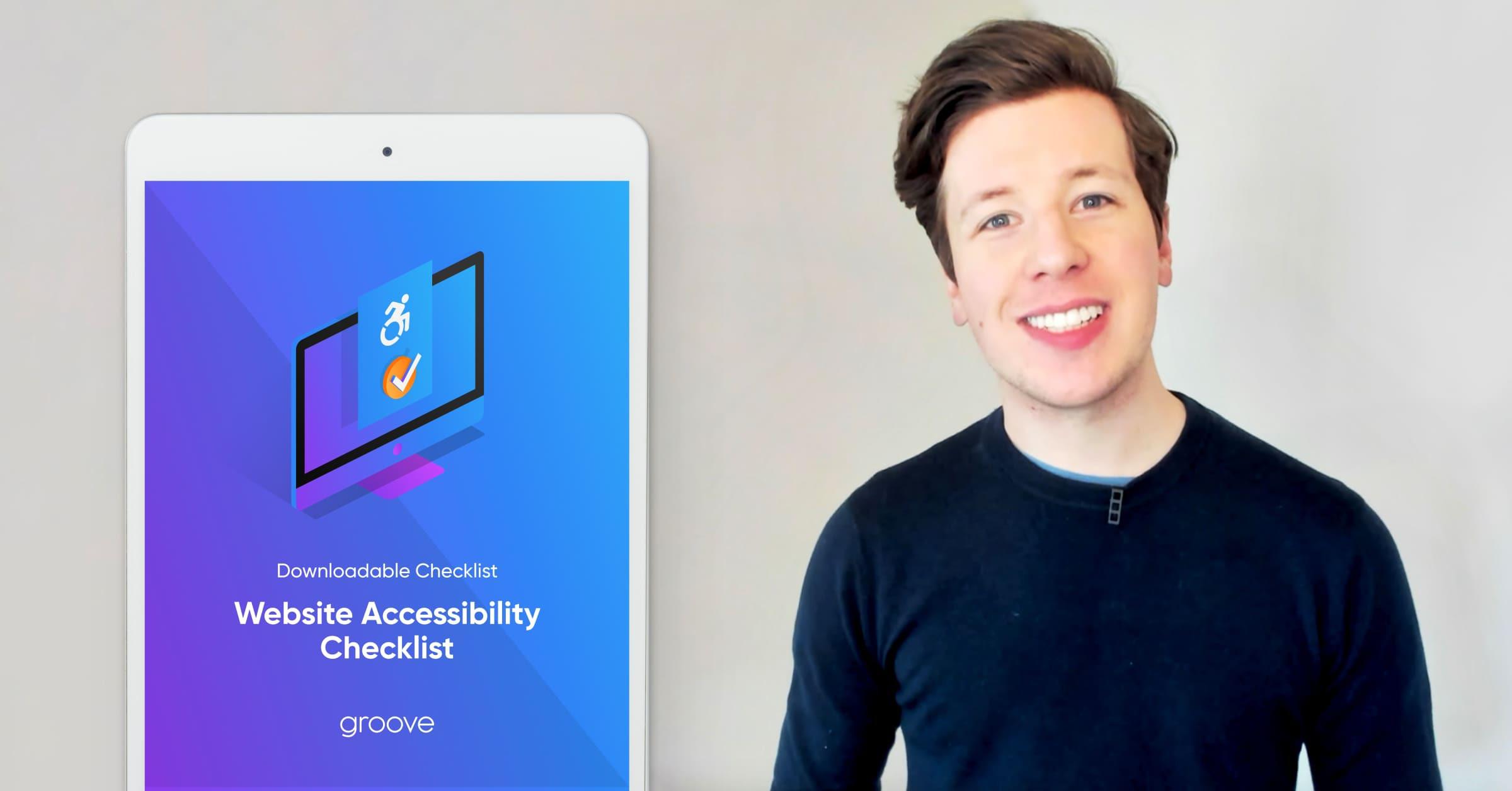 Website Accessibility Checklist Promo Video