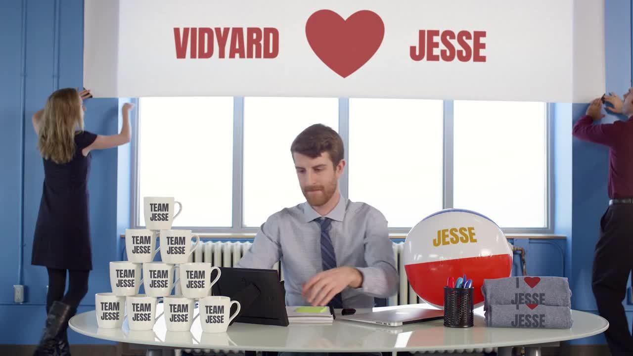 Personalized Holiday Greeting Brings Joy to Vidyard's Customers