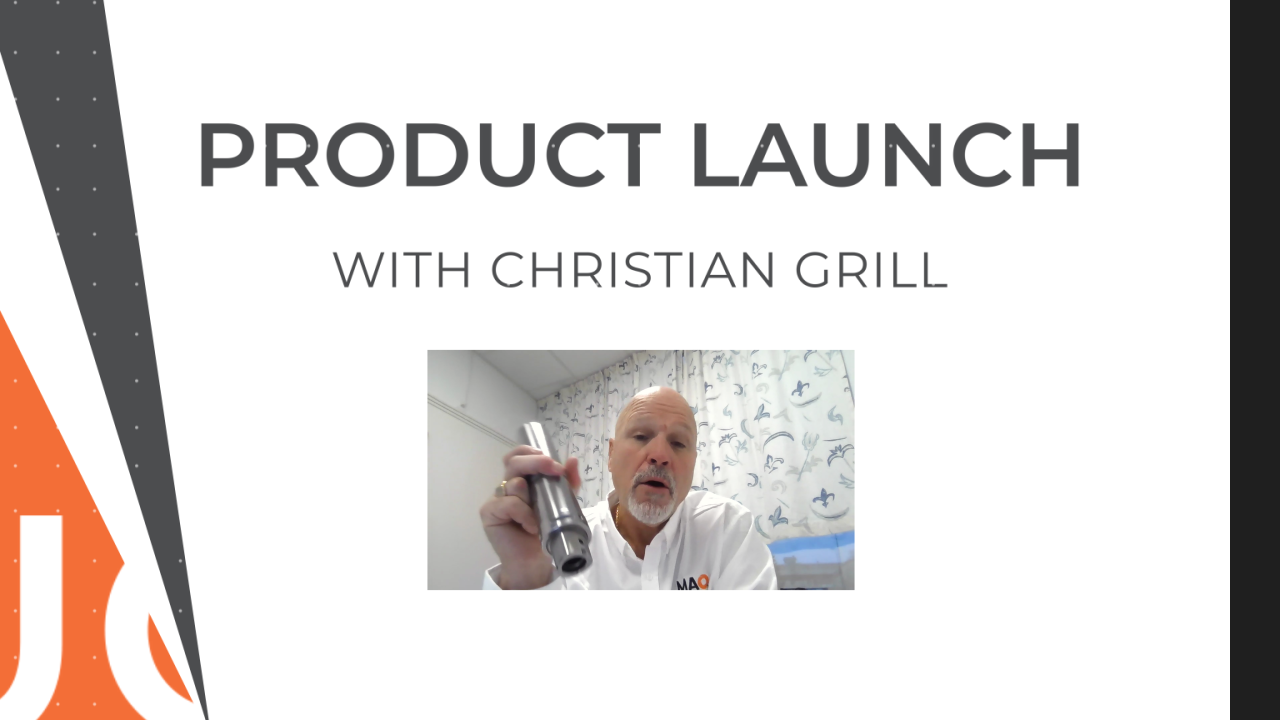 Product Launch With Christian Grill