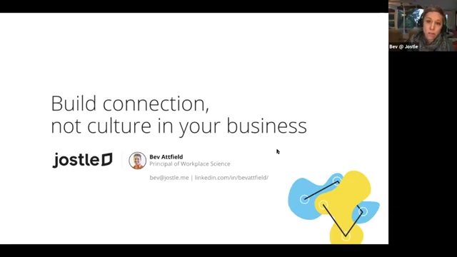 Webinar - How to build connection in your business to build lasting culture