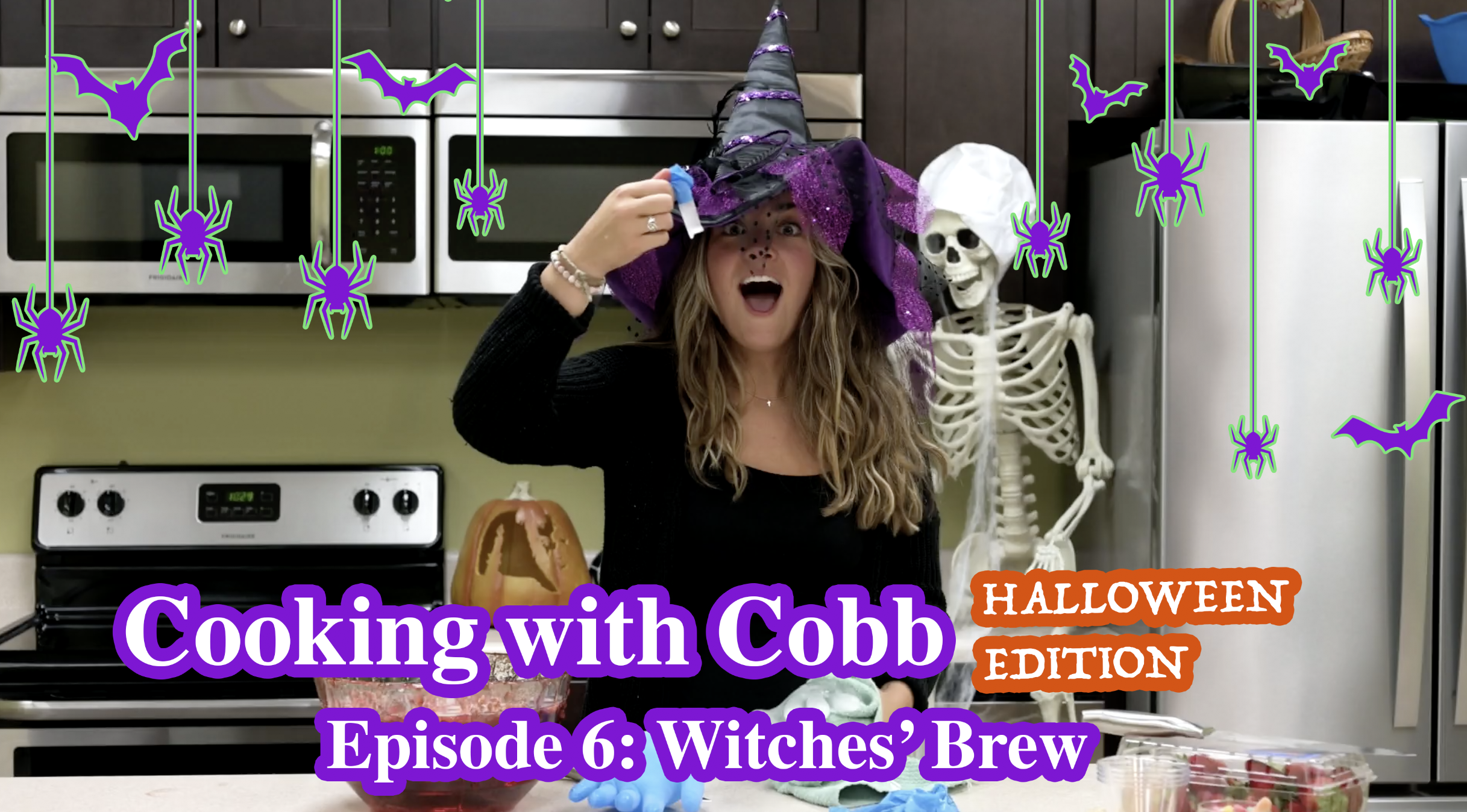 Cooking with Cobb - Episode 06 - Halloween
