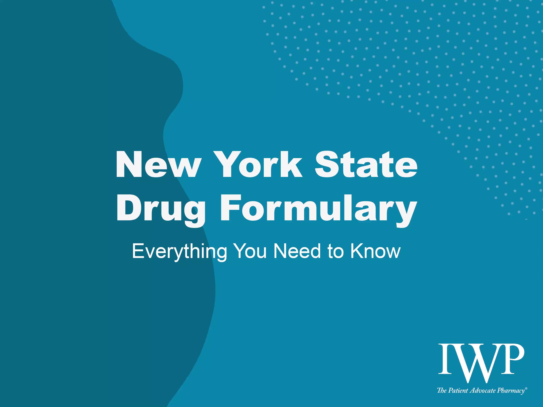 NY WC Drug Formulary Webinar Nov2020