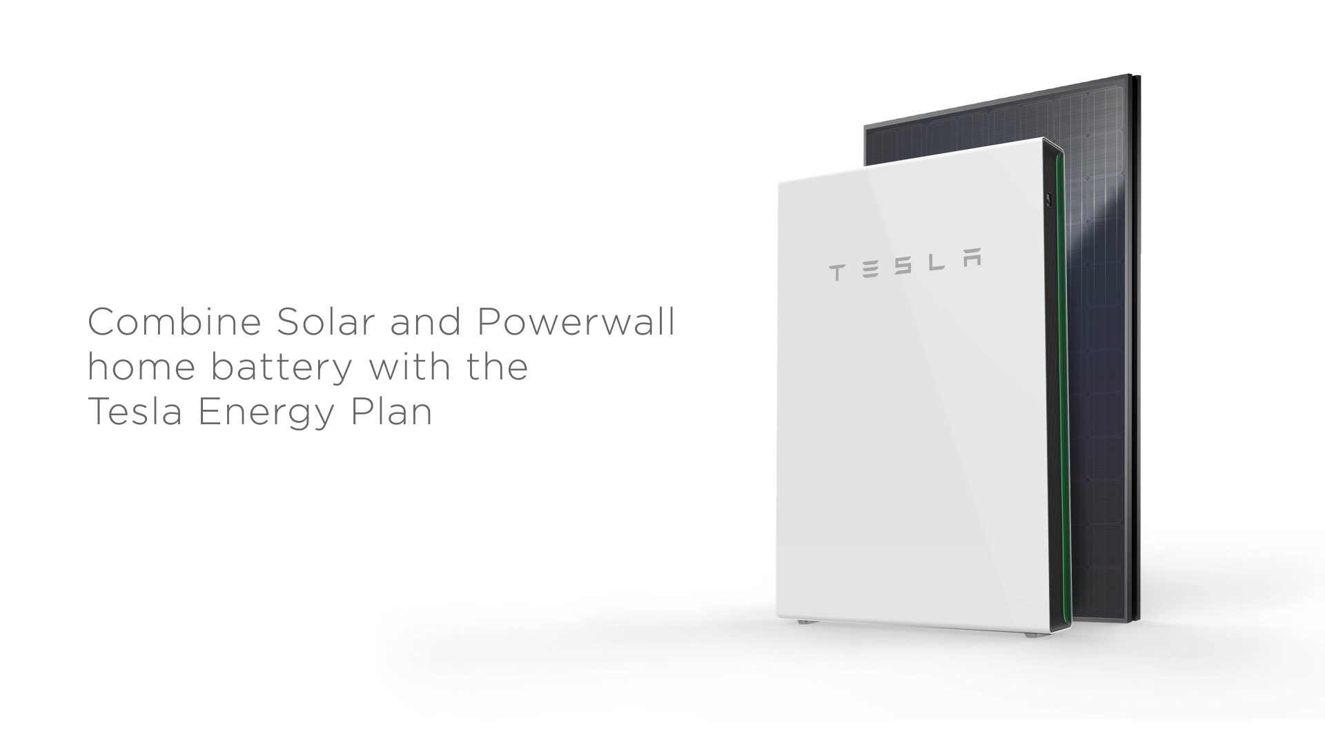Tesla Energy Plan video