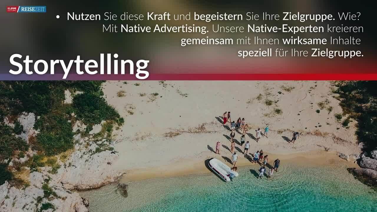 Kleine Zeitung Reisezeit Storytelling