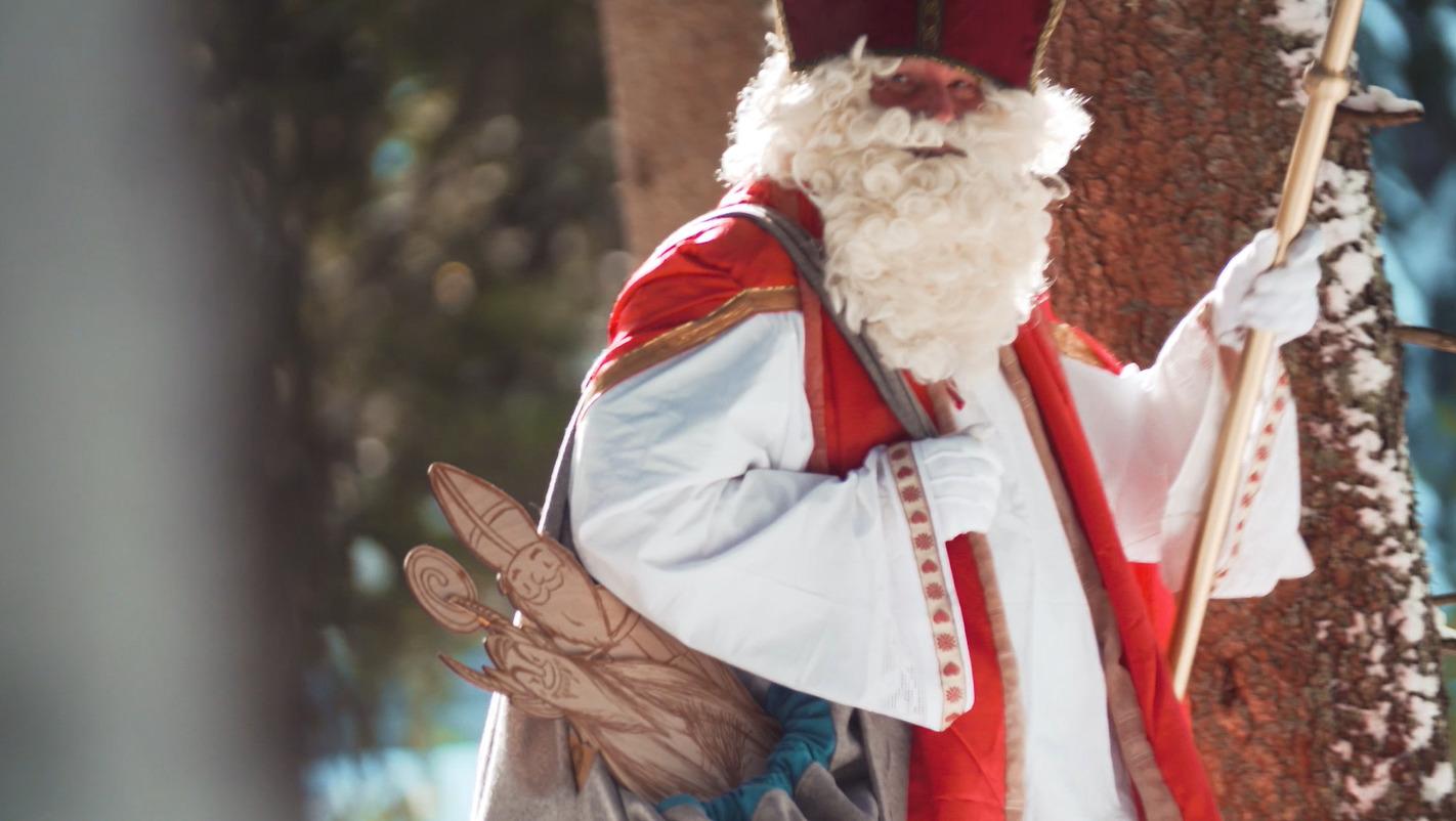 Tischlerei Erjavec - Der Nikolaus kommt