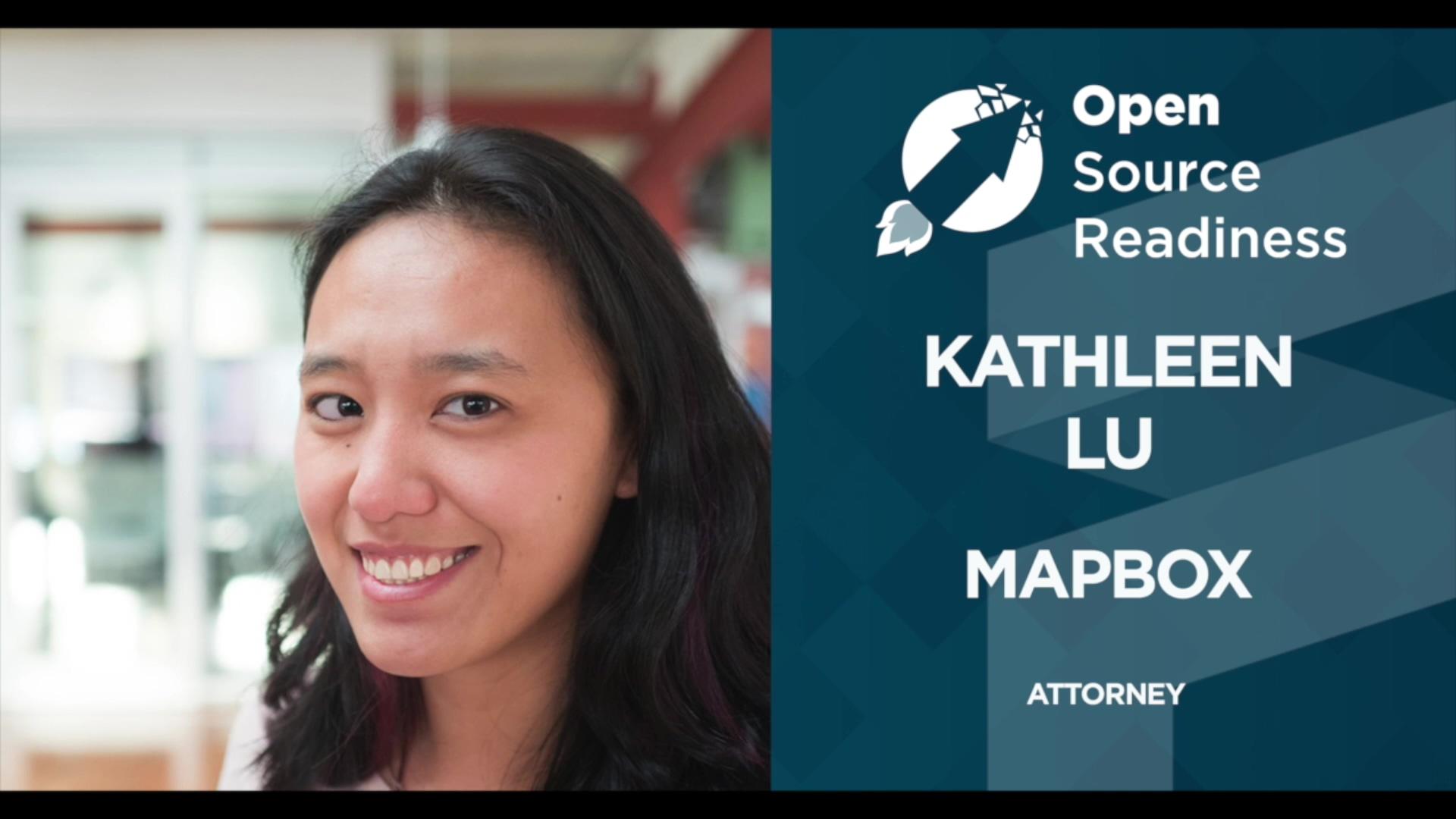FINOS Open Source Readiness - Kathleen Lu 28 OCT 20