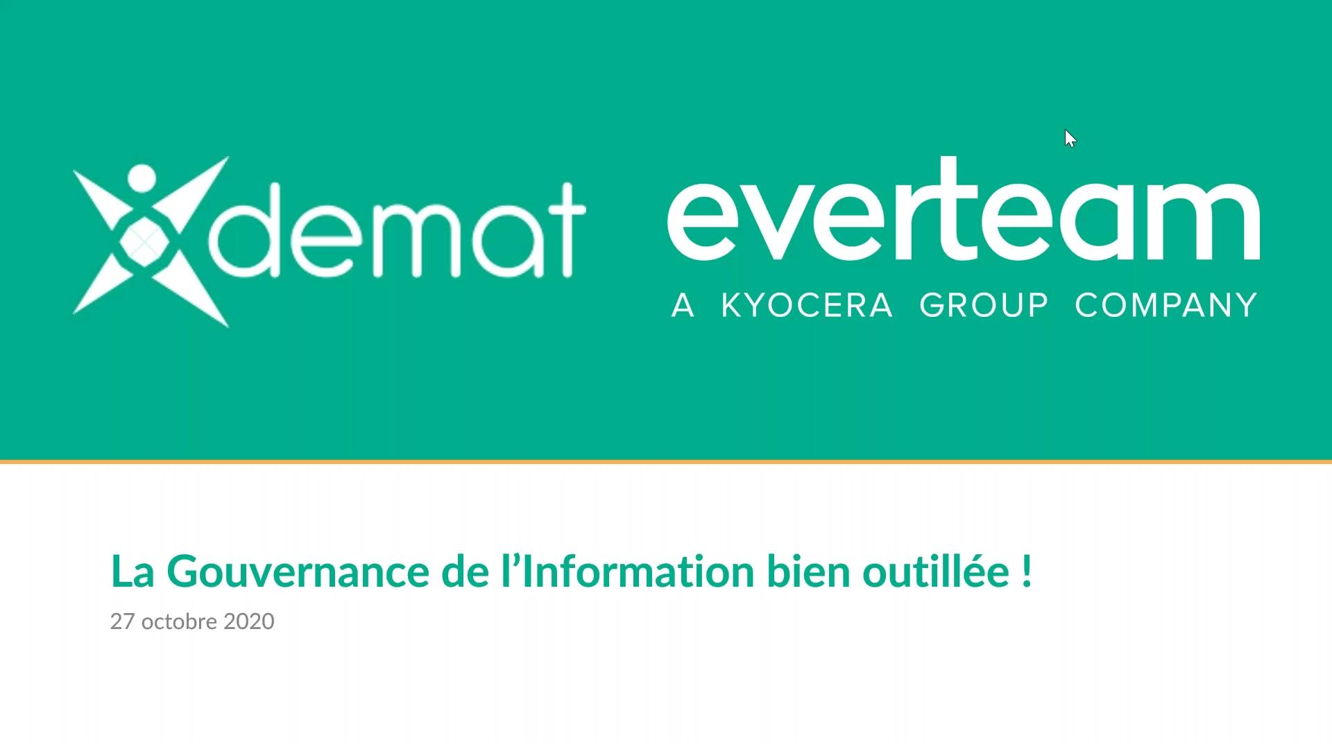 Atelier everteam.policy