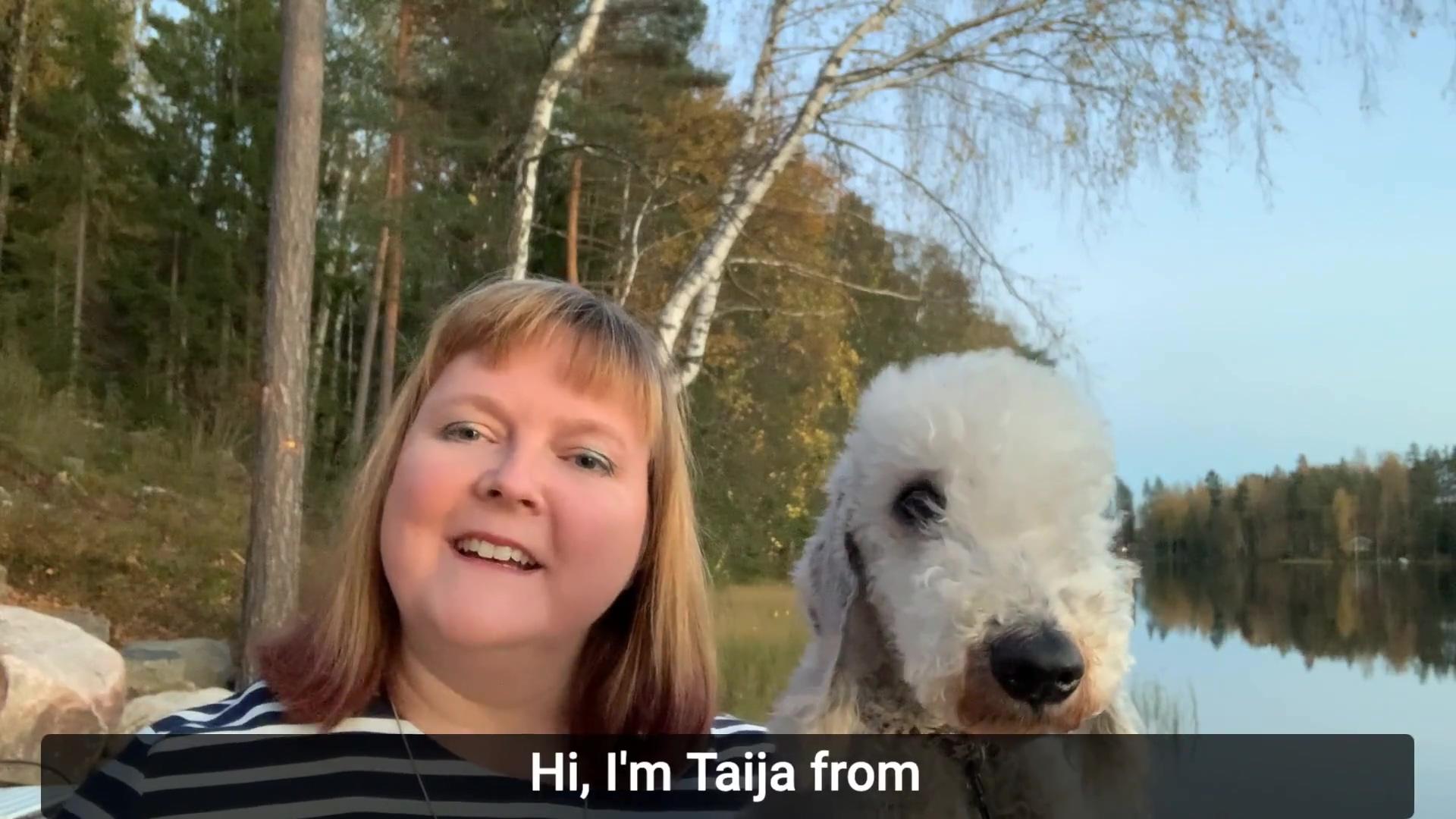 Taijas vlog about manual work