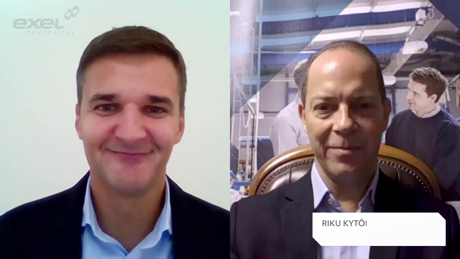 Exel Composites Q320 interview with CEO Riku Kytömäki