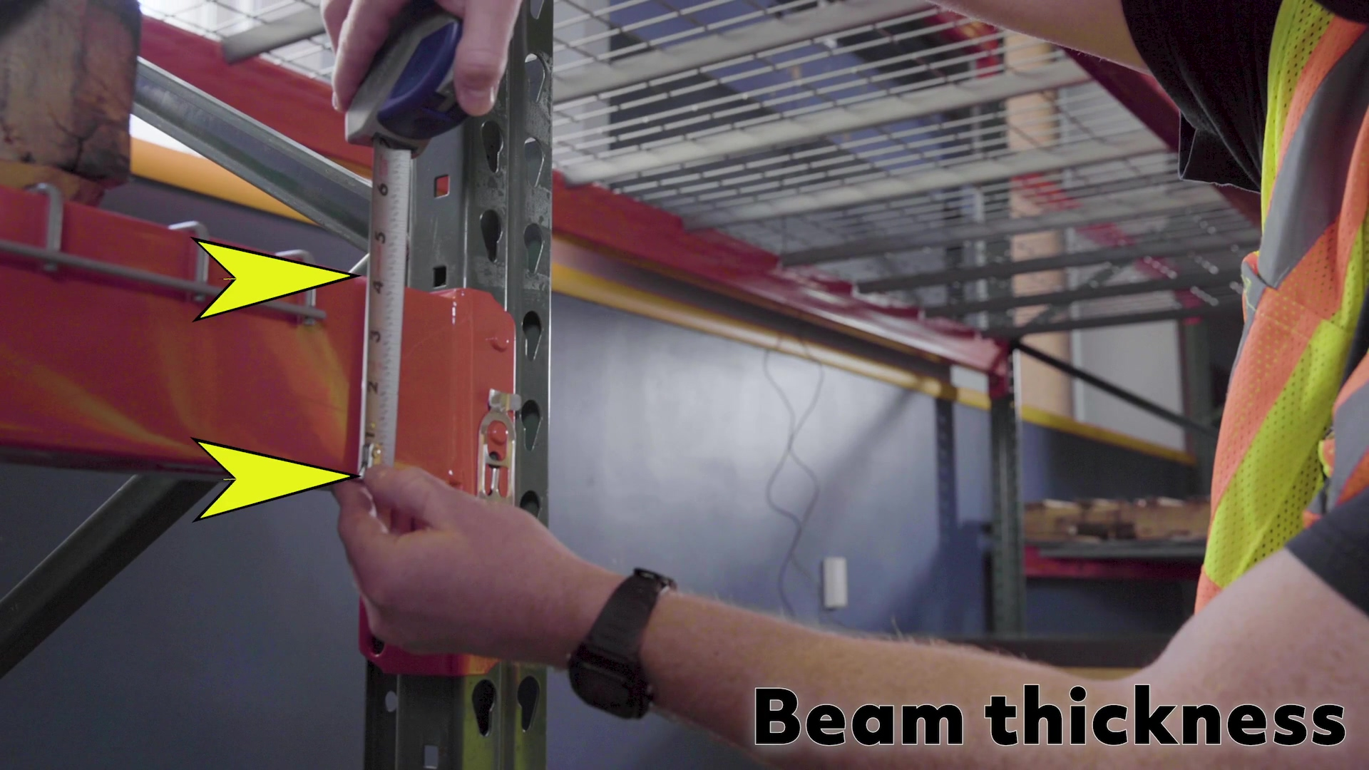 Mapping your pallet racking