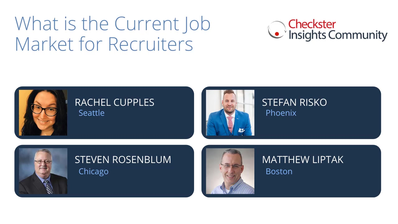 What is the Current Job Market for Recruiters