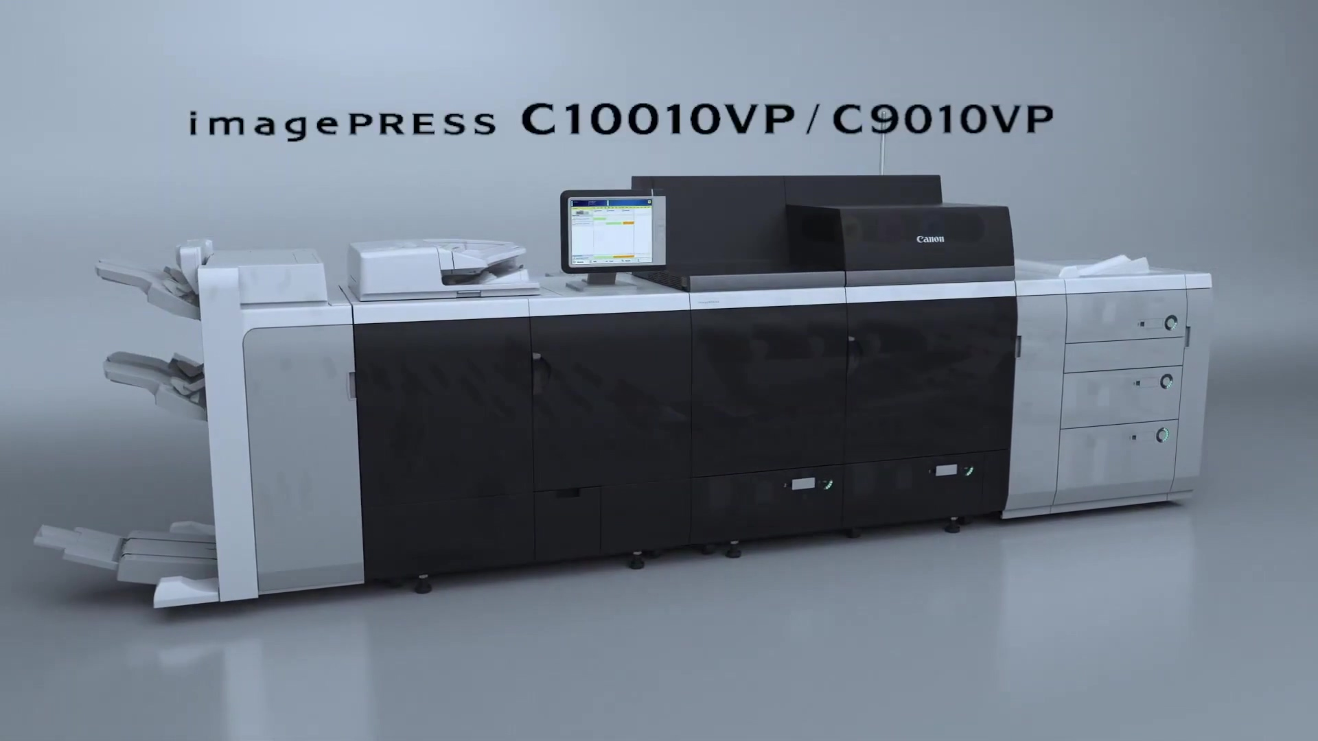 Canon imagePress C10010VP Series Introduction Video