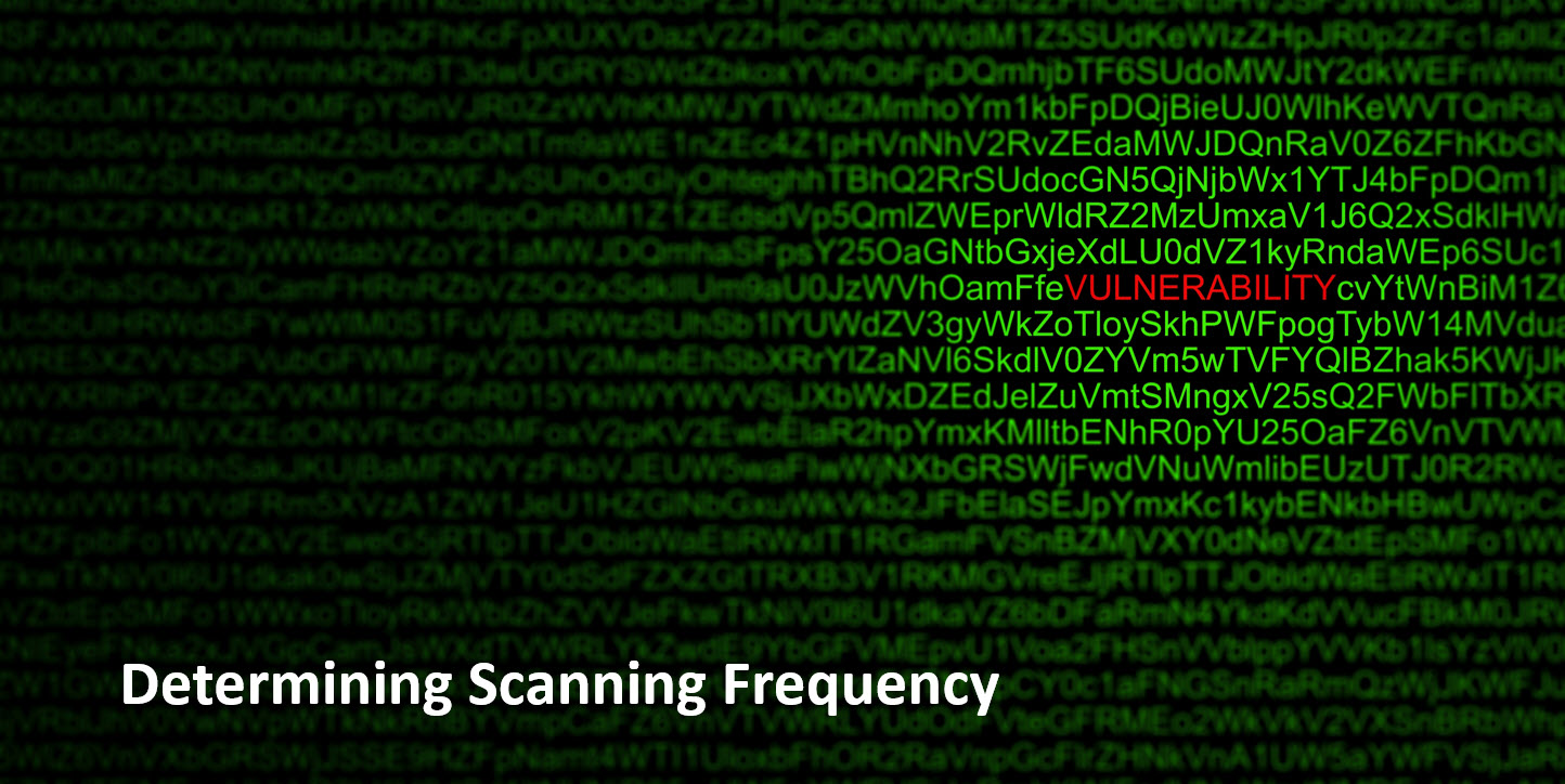 Determining Scanning Frequency