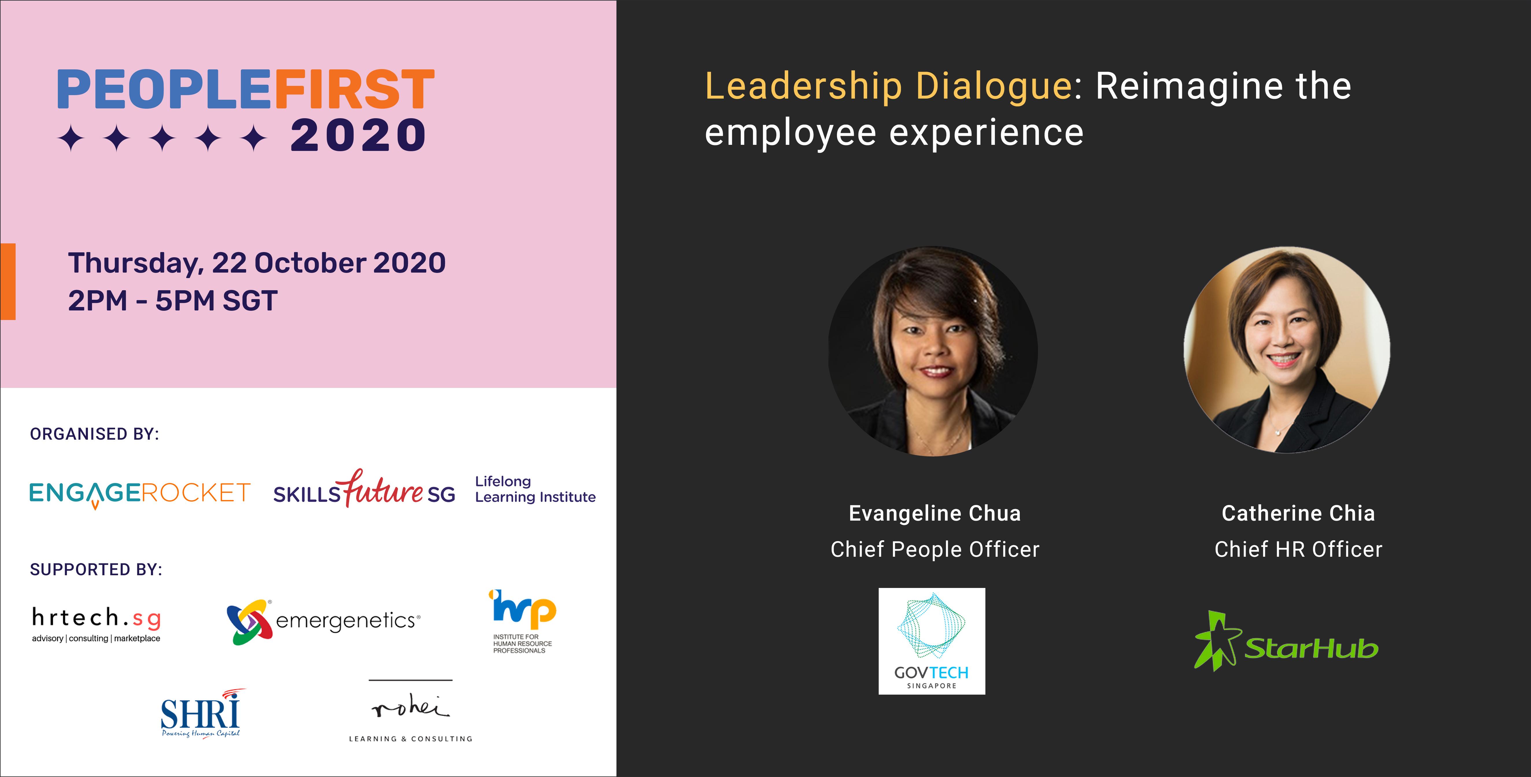 Leadership Dialogue - GovTech & Starhub