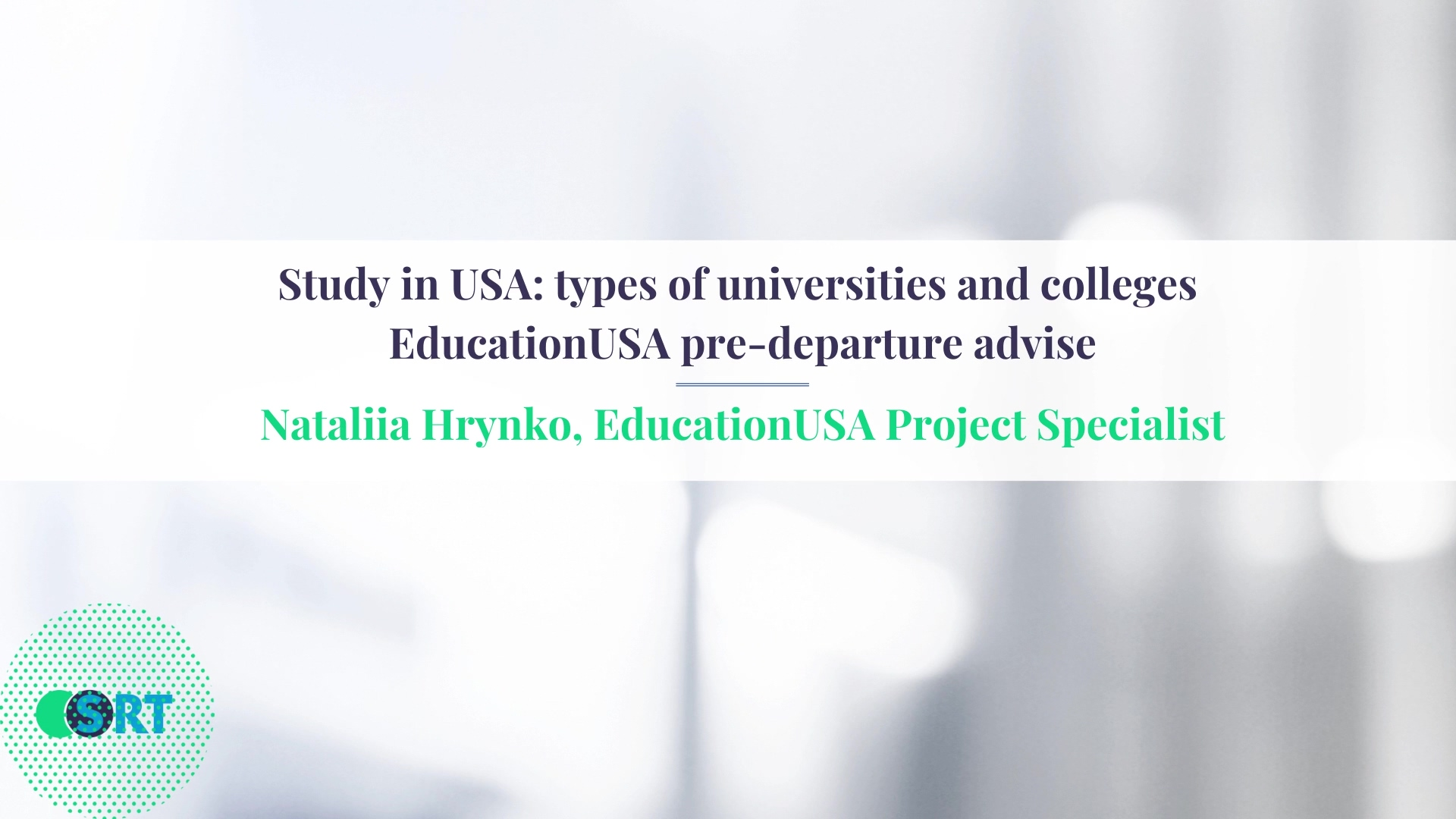 Study in USA_ types of universities and colleges  EducationUSA pre-departure advise