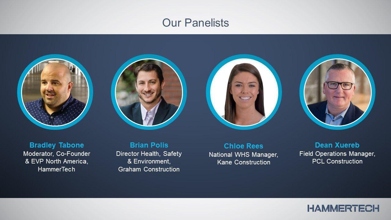 Panel Bradley, Brian, Chloe & Dean