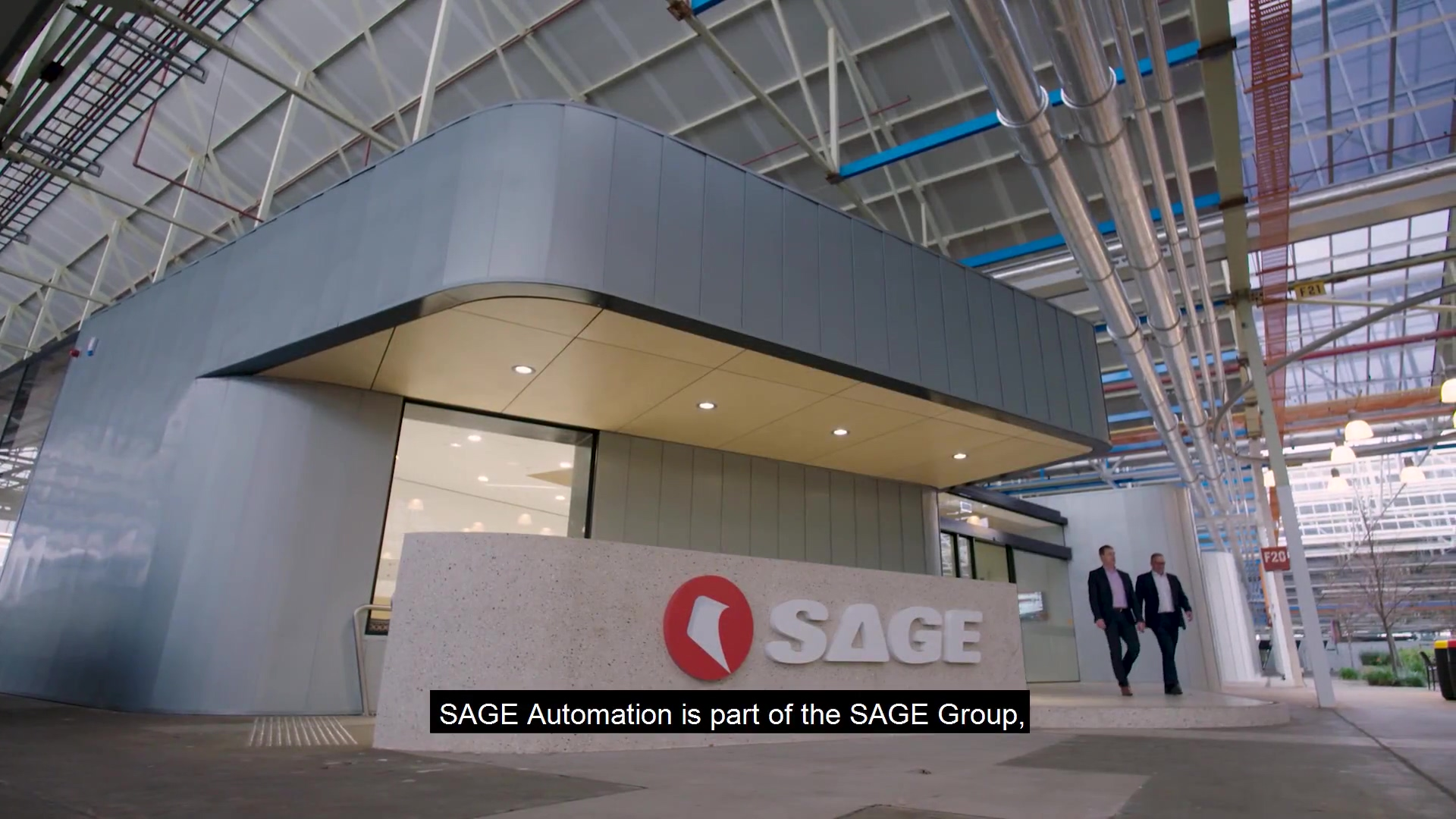 SAGE AUTOMATION Defence capability video
