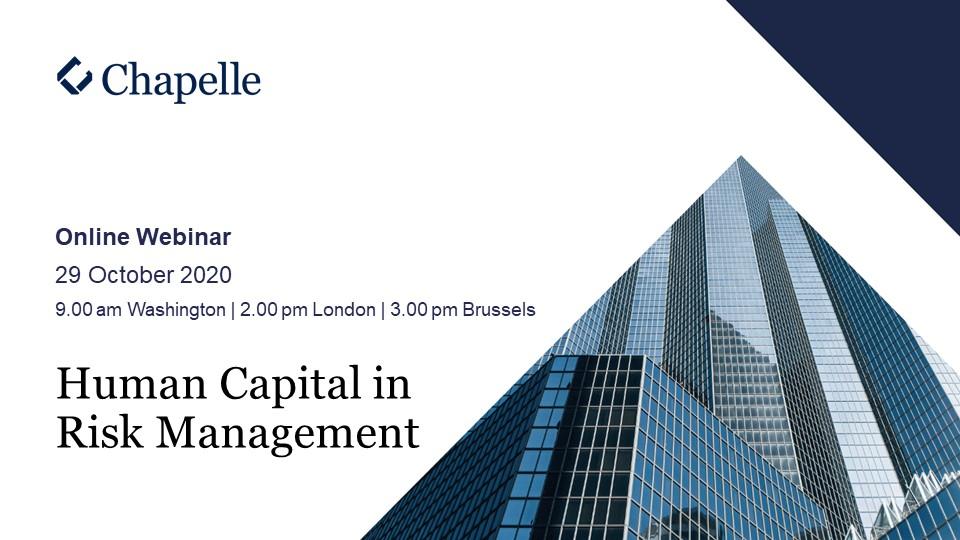 Chapelle Webinar - Human Capital in Risk Management - website version
