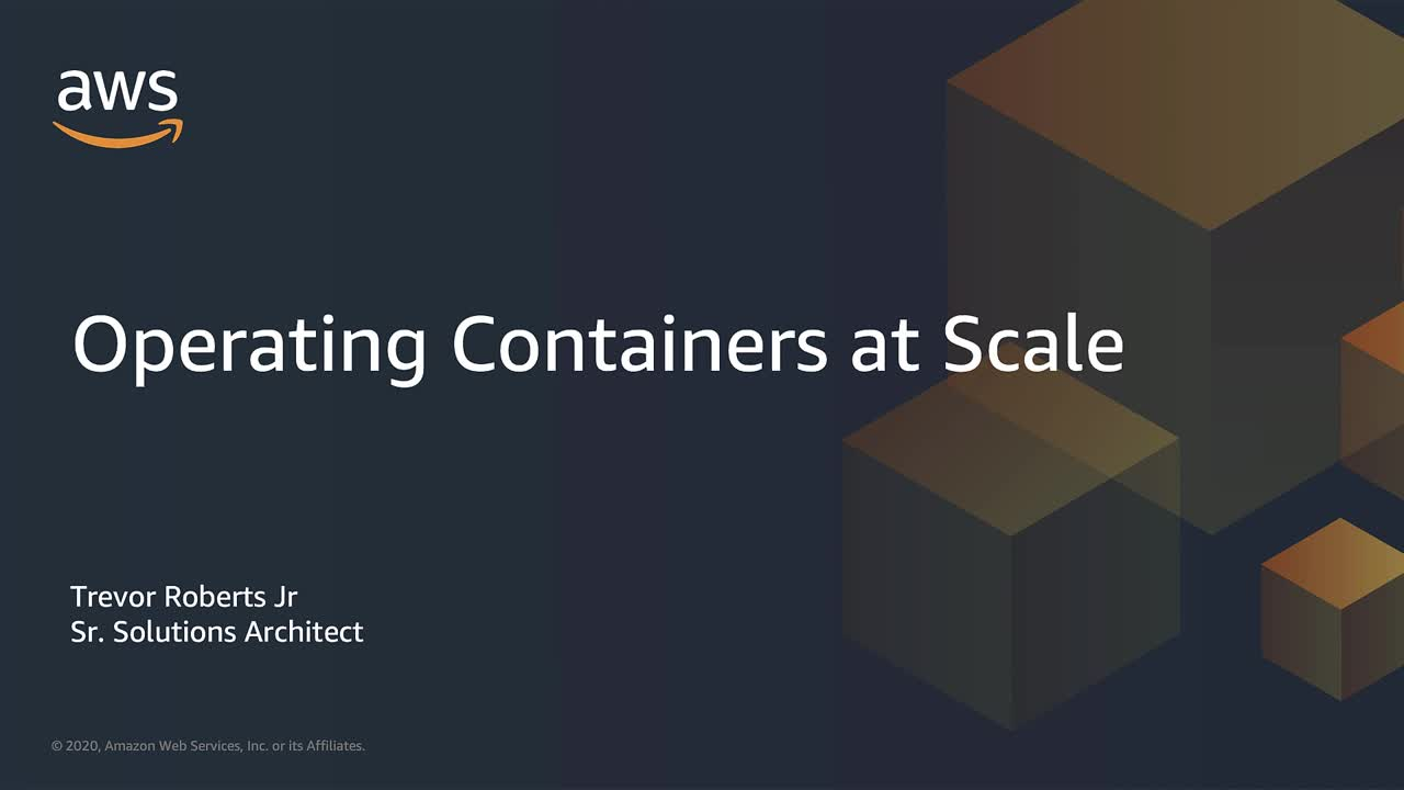 Operating Containers at Scale