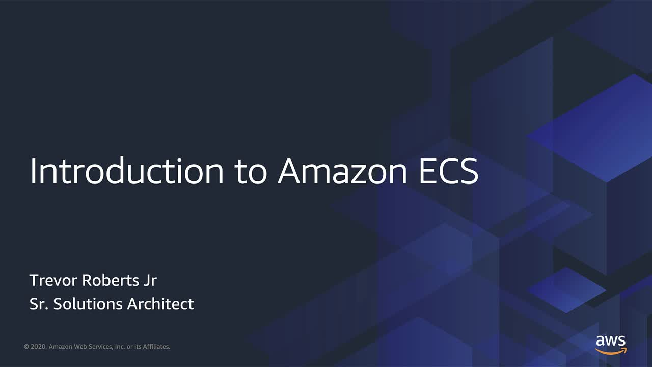 Introduction to Amazon ECS