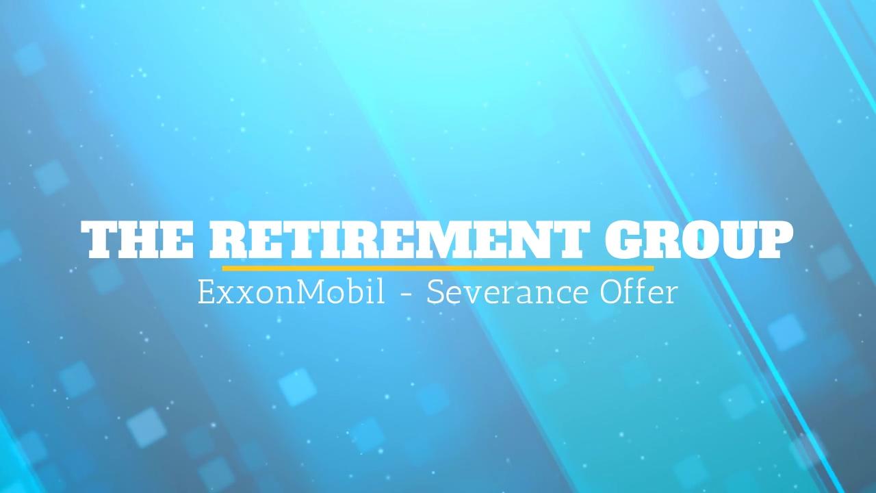 ExxonMobil - Severance Offer - Tyson Mavar - 11_4_20