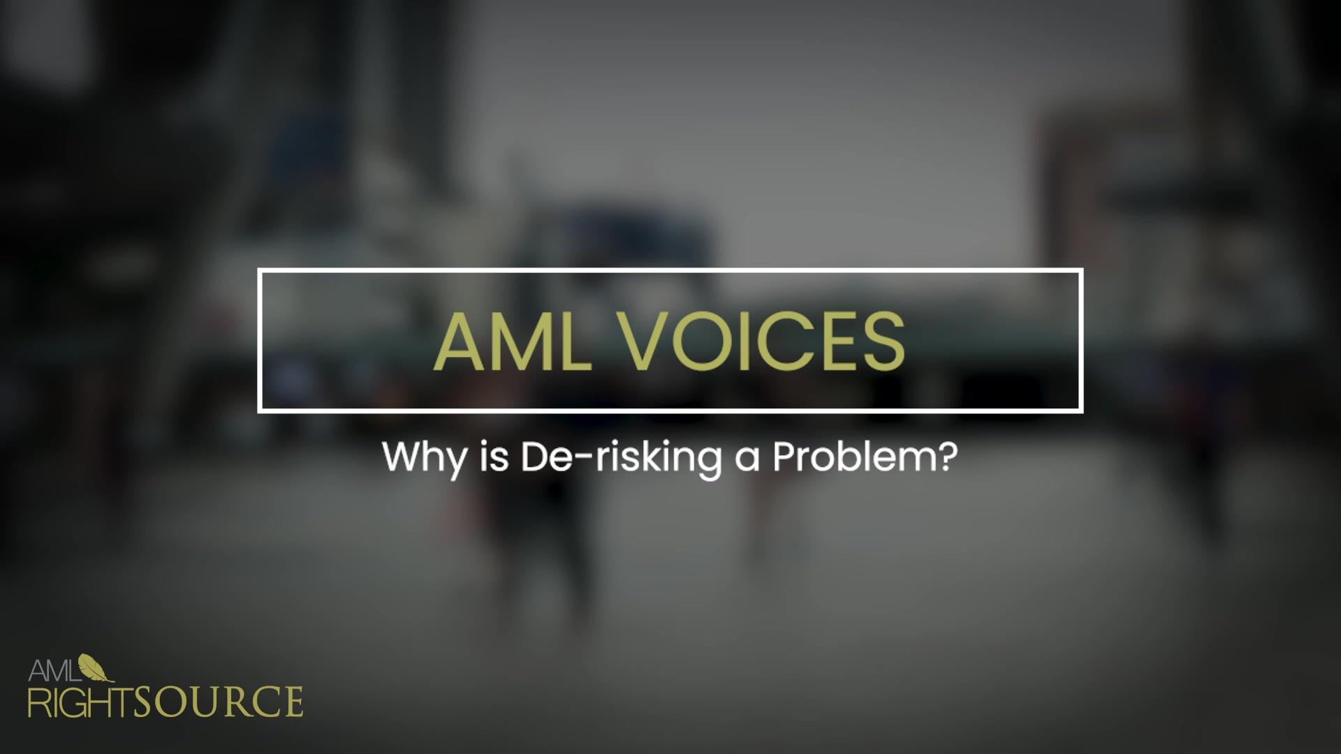 Why is De-risking a Problem