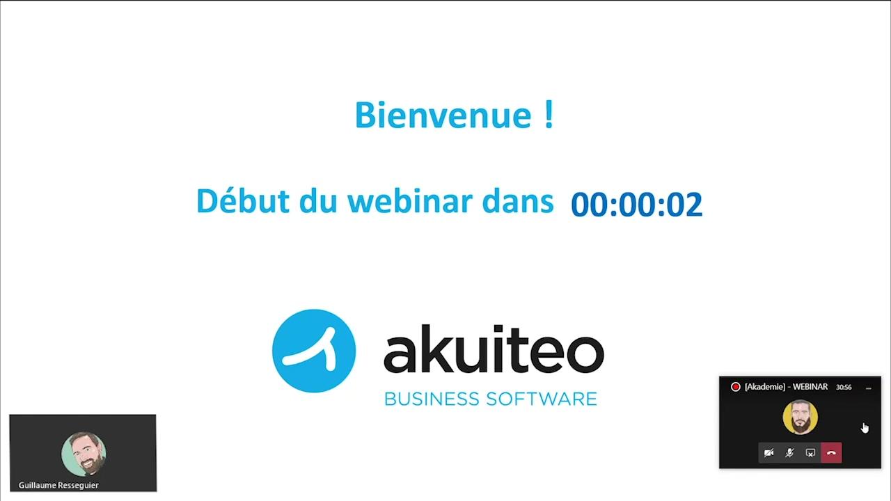 [Akademie] - WEBINAR - 03-11-2020 - Les graphiques dans Akuiteo