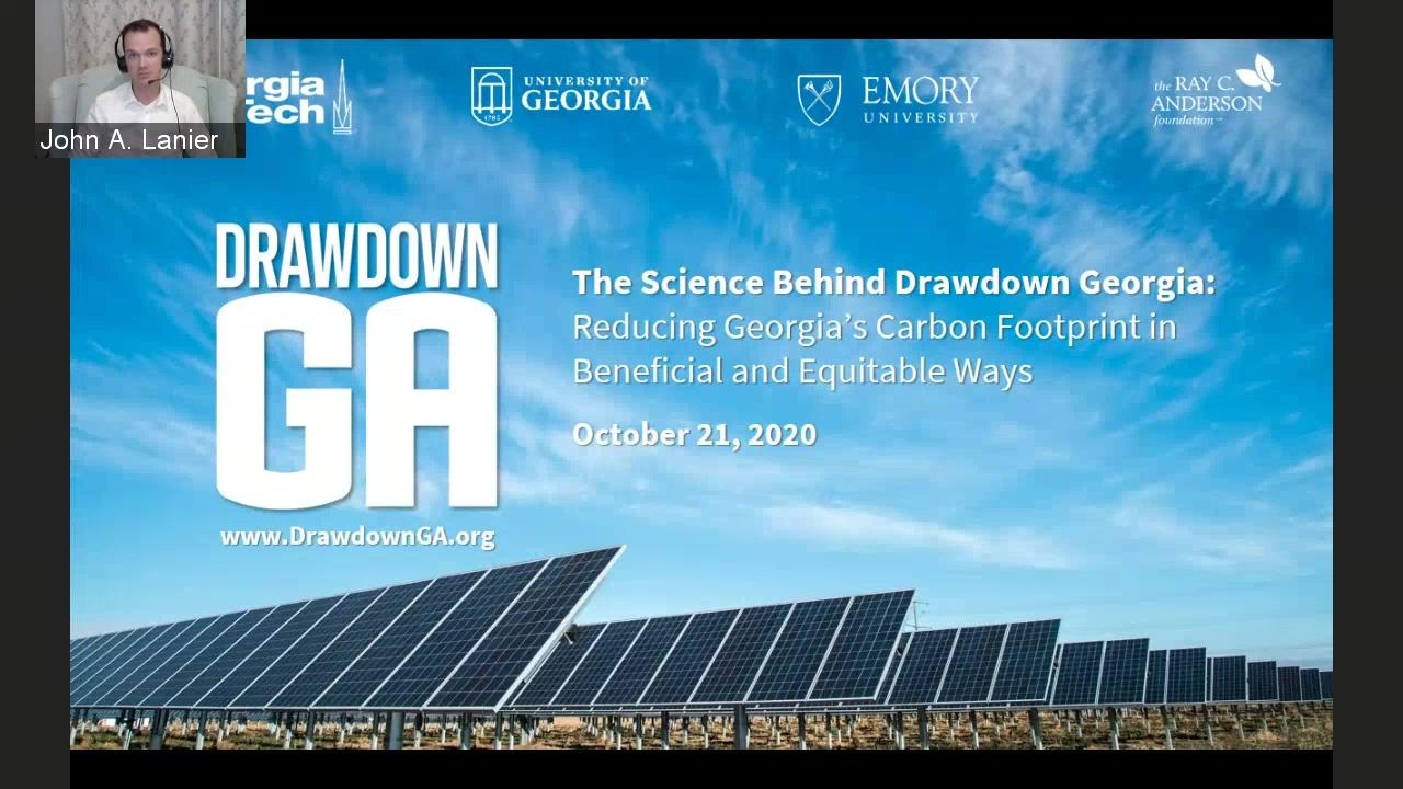 Drawdown Science Webinar
