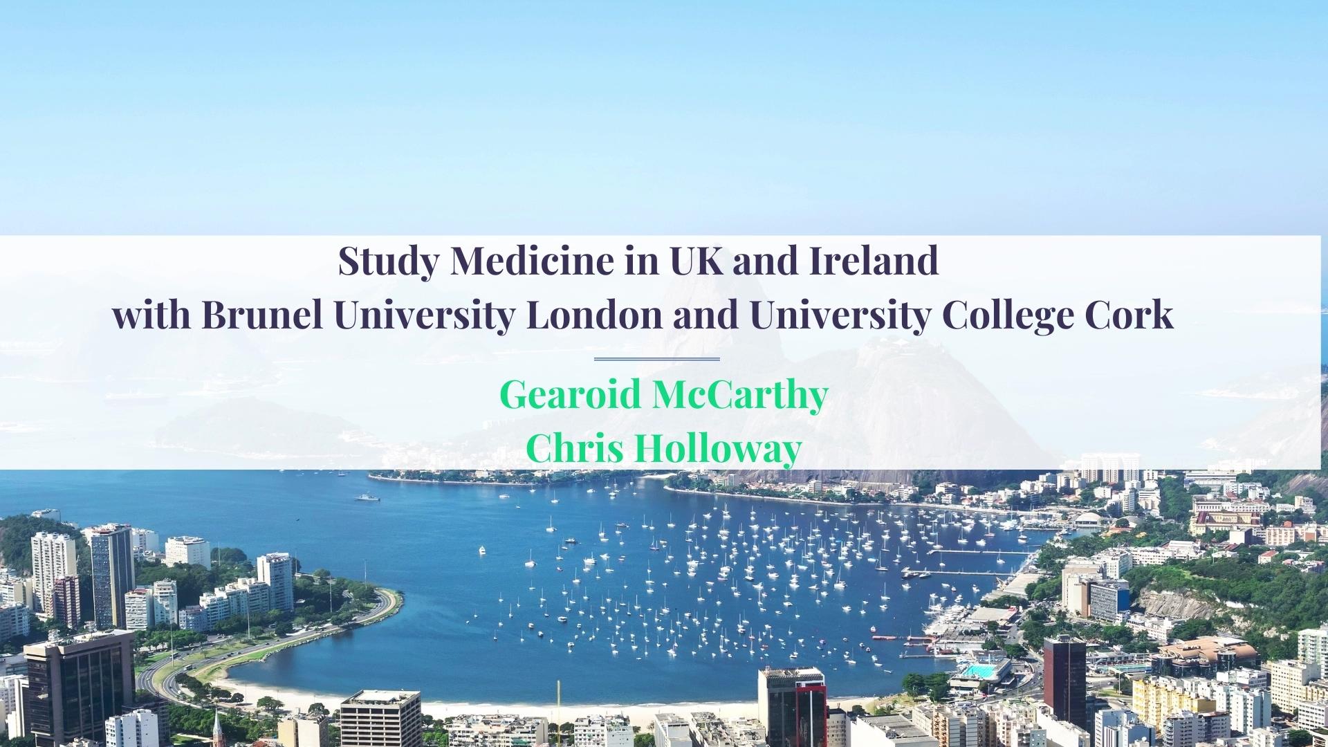 Study Medicine in UK and Ireland