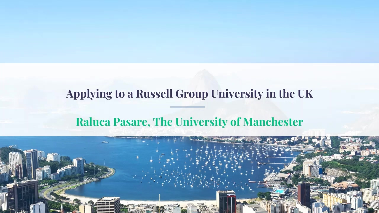 ECIE Americas Applying to a Russell Group University in the UK