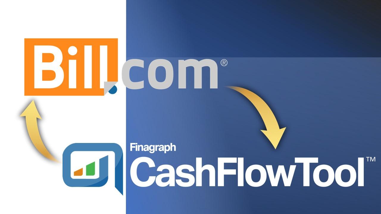 Bill.com integration with CashFlowTool