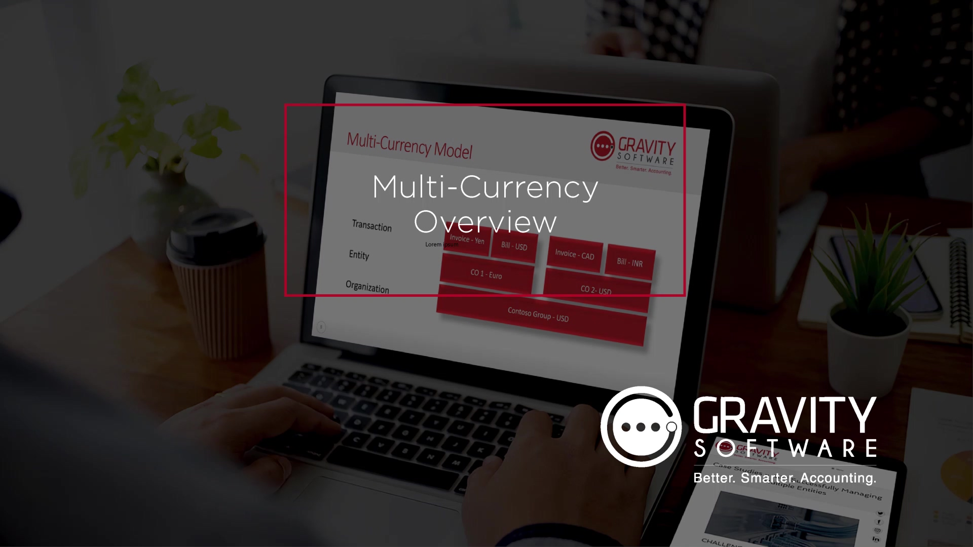 Gravity Software Multi-Currency Overview