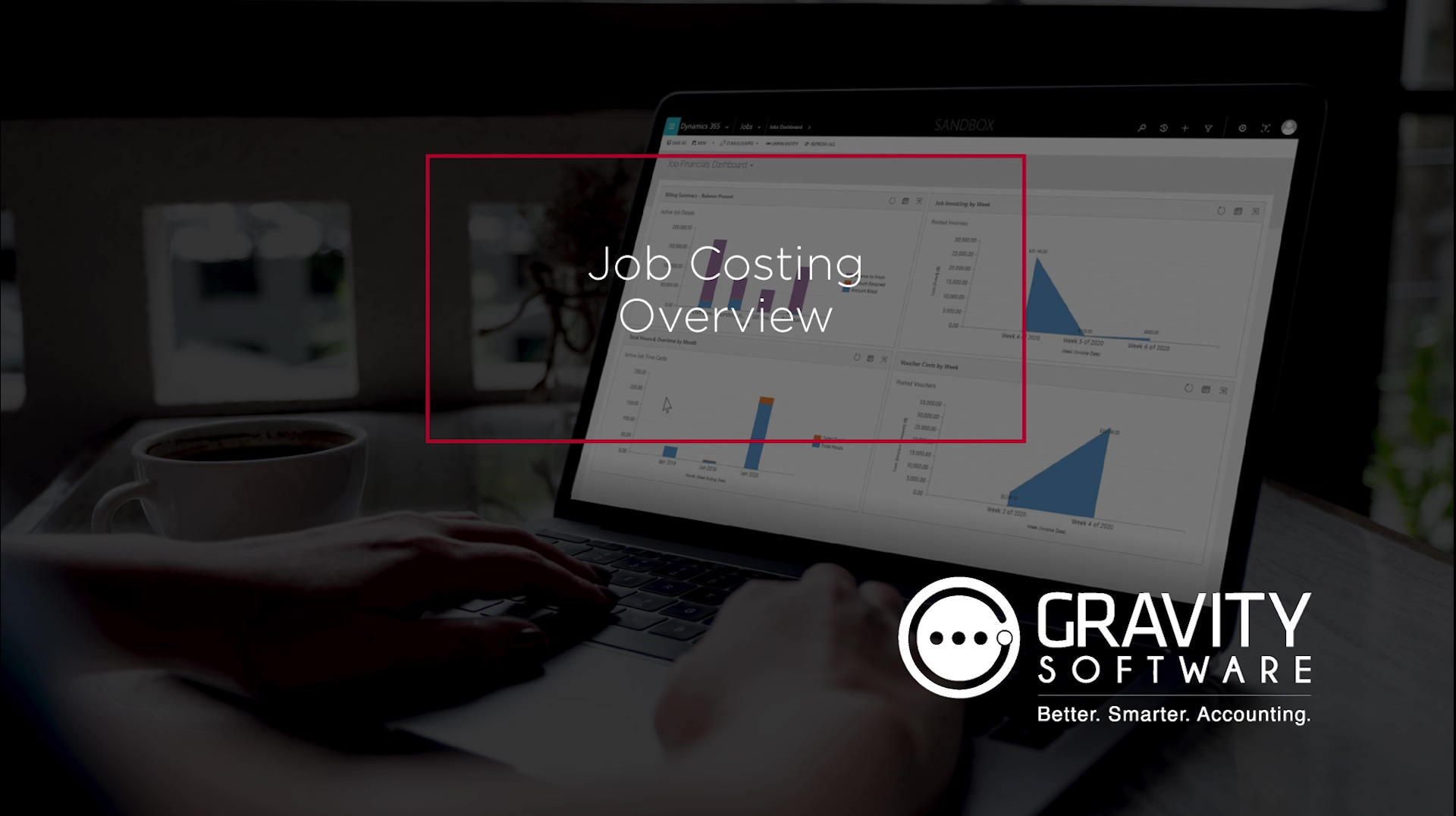 Gravity Software Job Costing Module On-Demand Video
