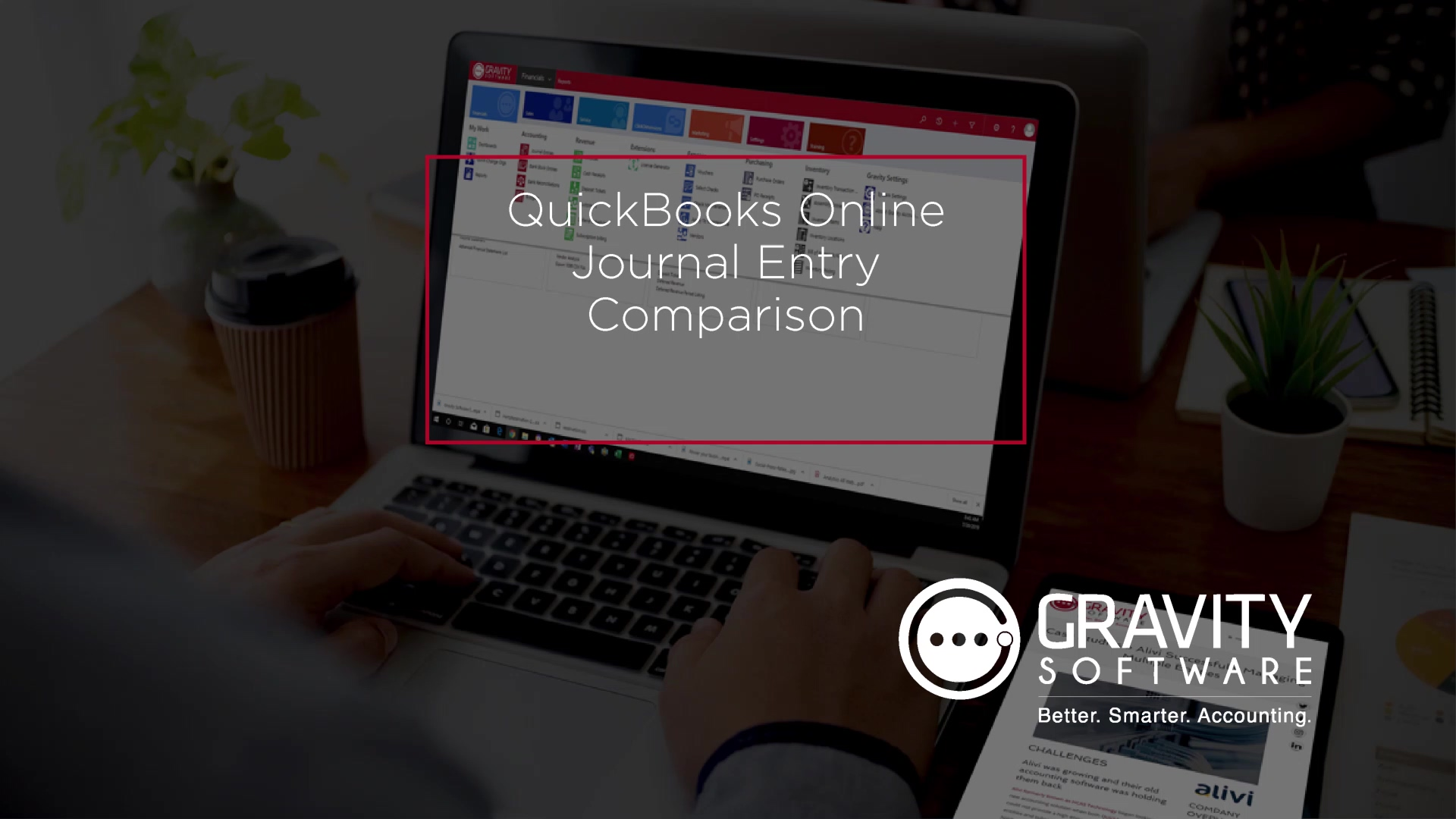 QuickBooks Online Journal Entry Comparison