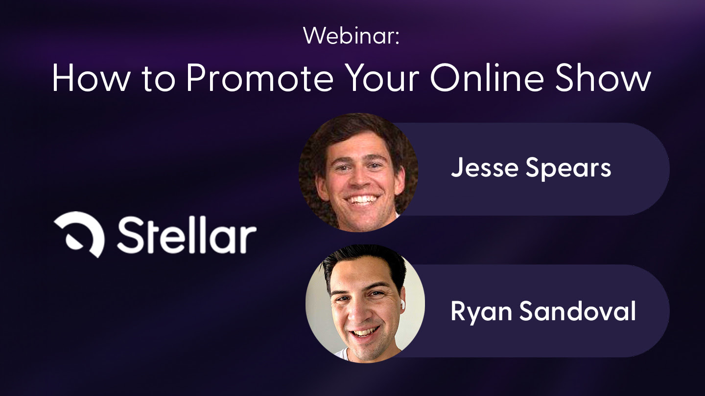 How to promote your online show