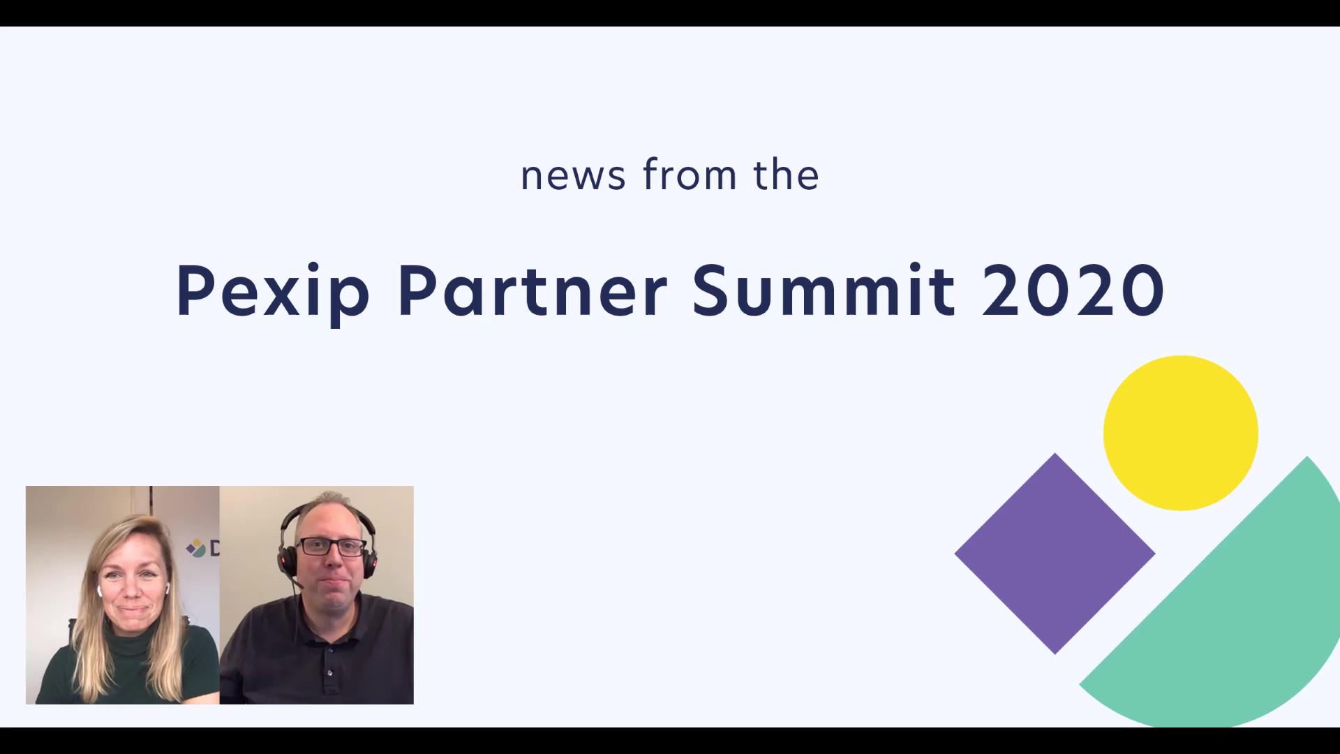 Recap Pexip Partner Summit 2020