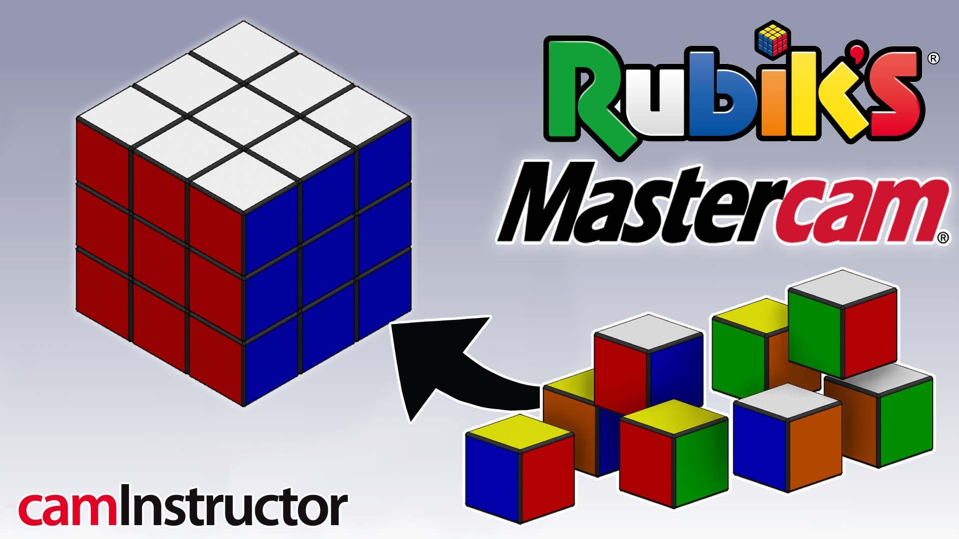 Mastercam Rubix Cube