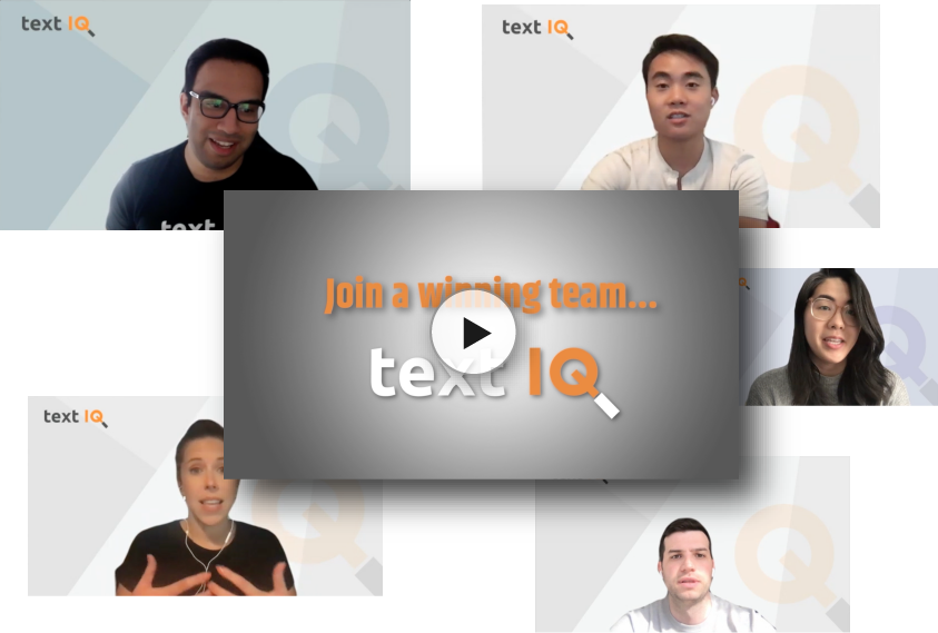 Working at Text IQ full