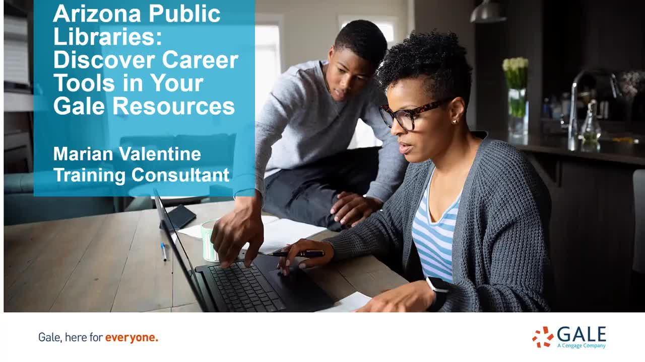 Arizona Public Libraries: Discover Career Tools in Your Gale Resources Thumbnail