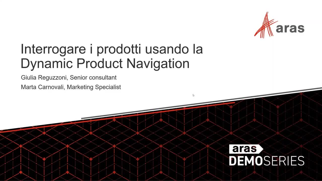Dynamic Product Navigation