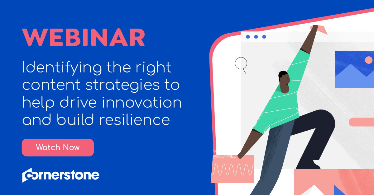 Identifying the right content strategies to help drive innovation and build resilience