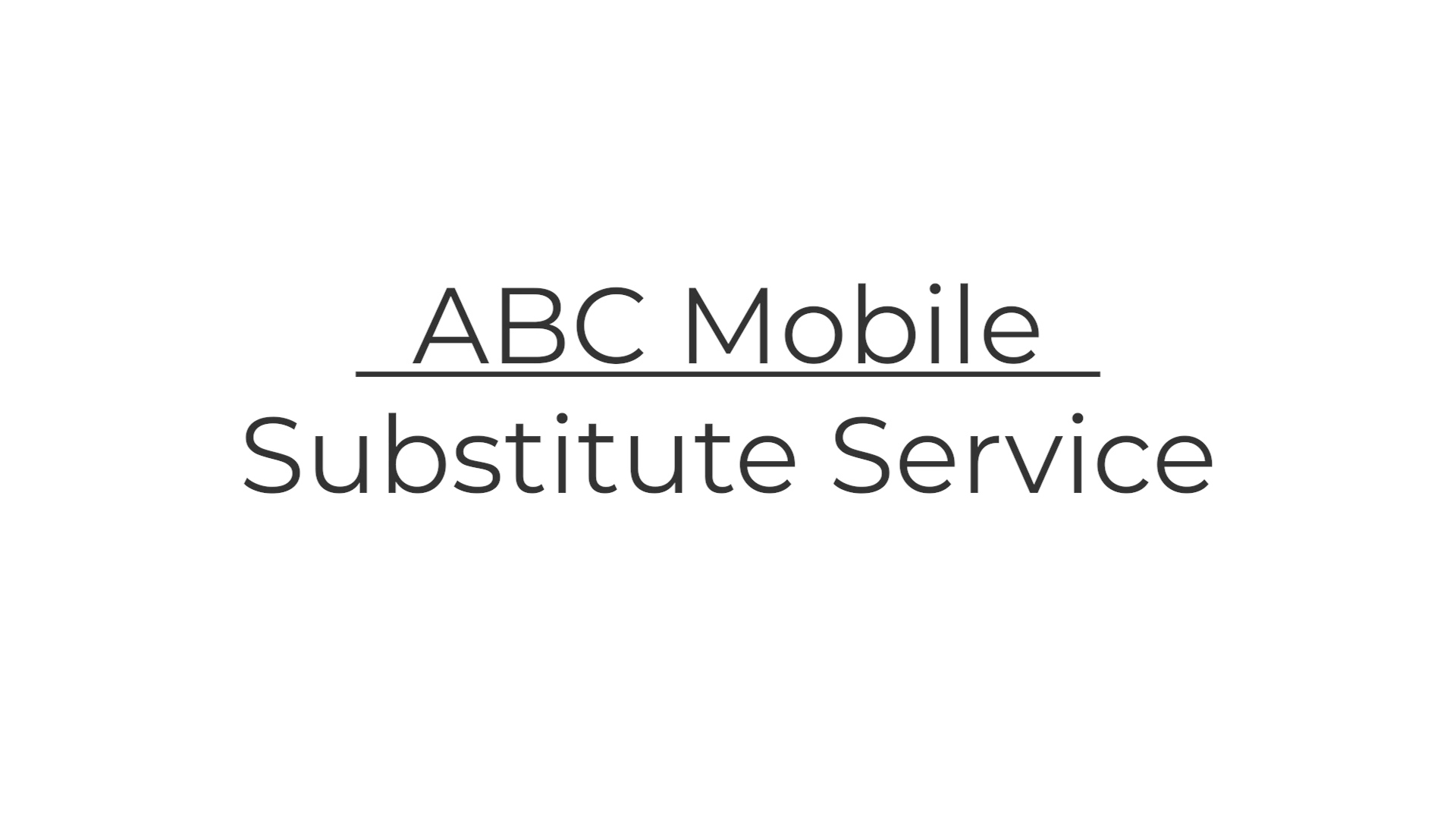4 Sub Service
