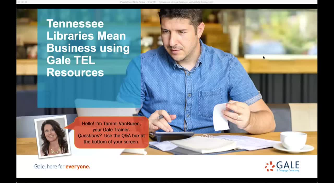 Tennessee Libraries Mean Business using Gale TEL Resources Thumbnail