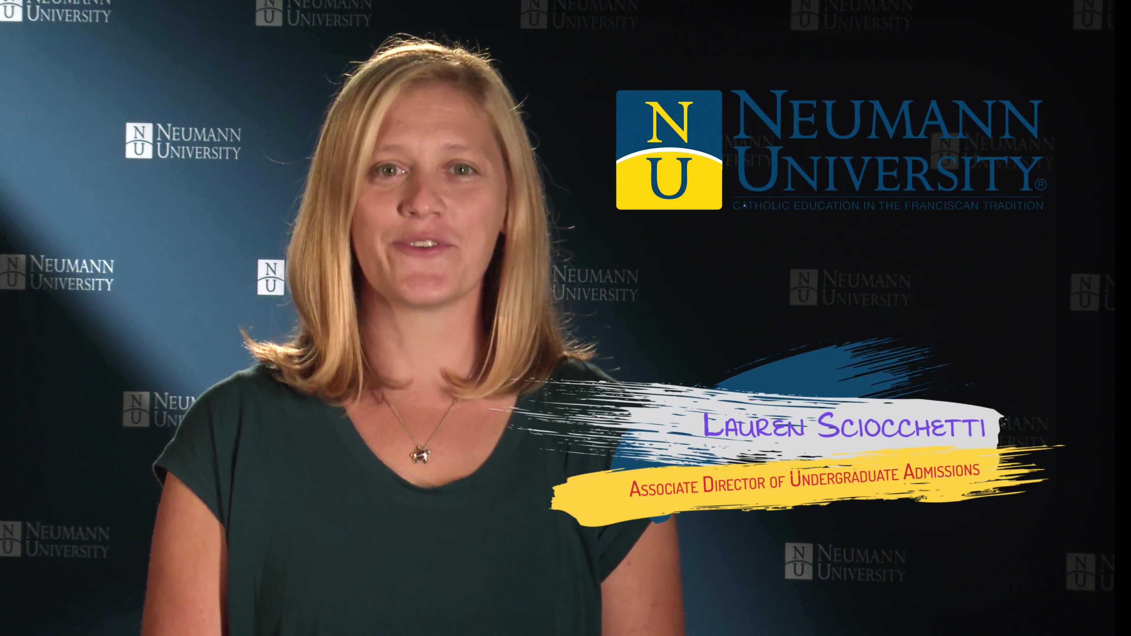 Neumann University - Associate Director of Undergraduate Admissions Lauren Sciocchetti