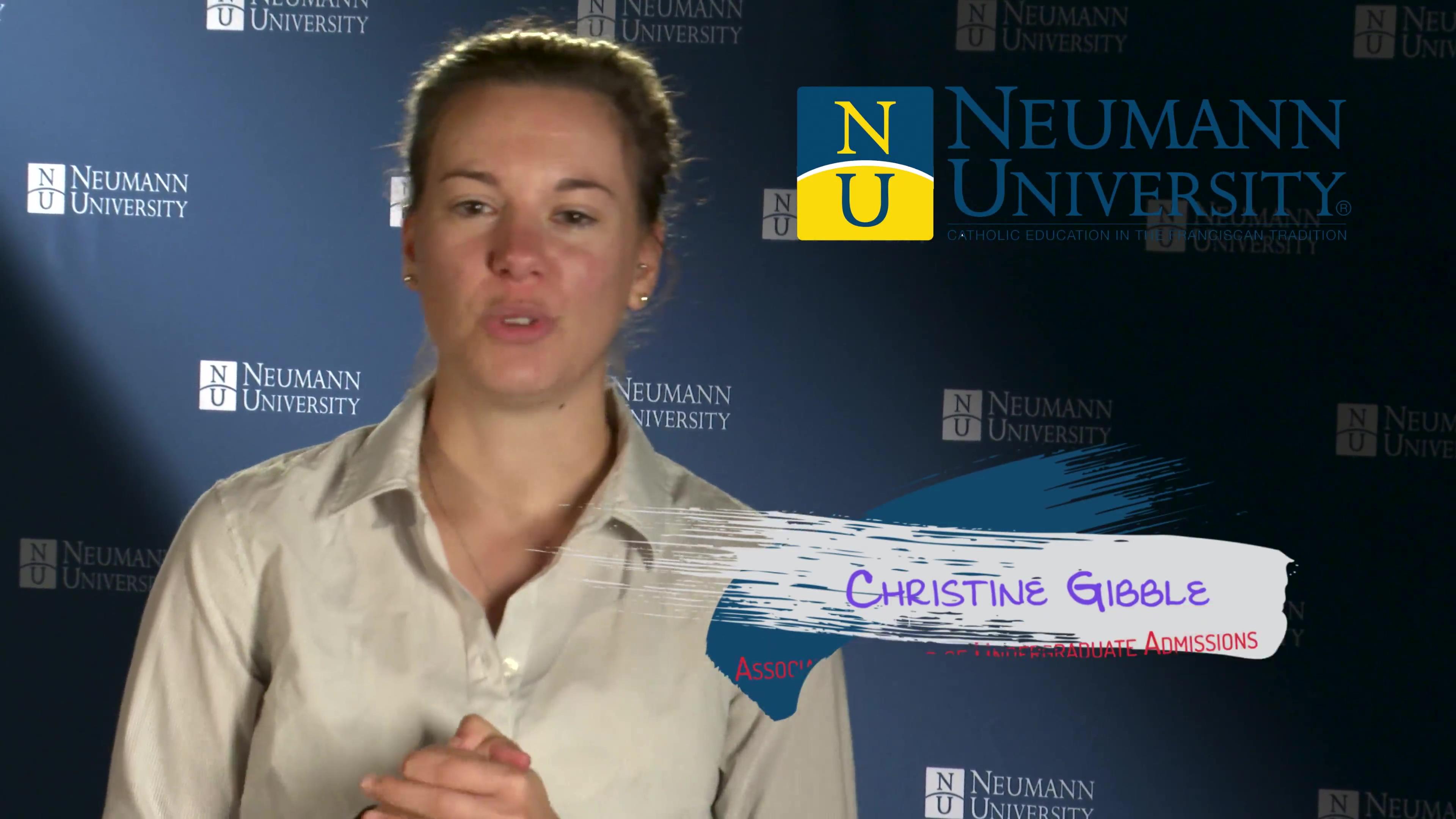 Neumann University - Associate Director of Undergraduate Admissions Christine Gibble