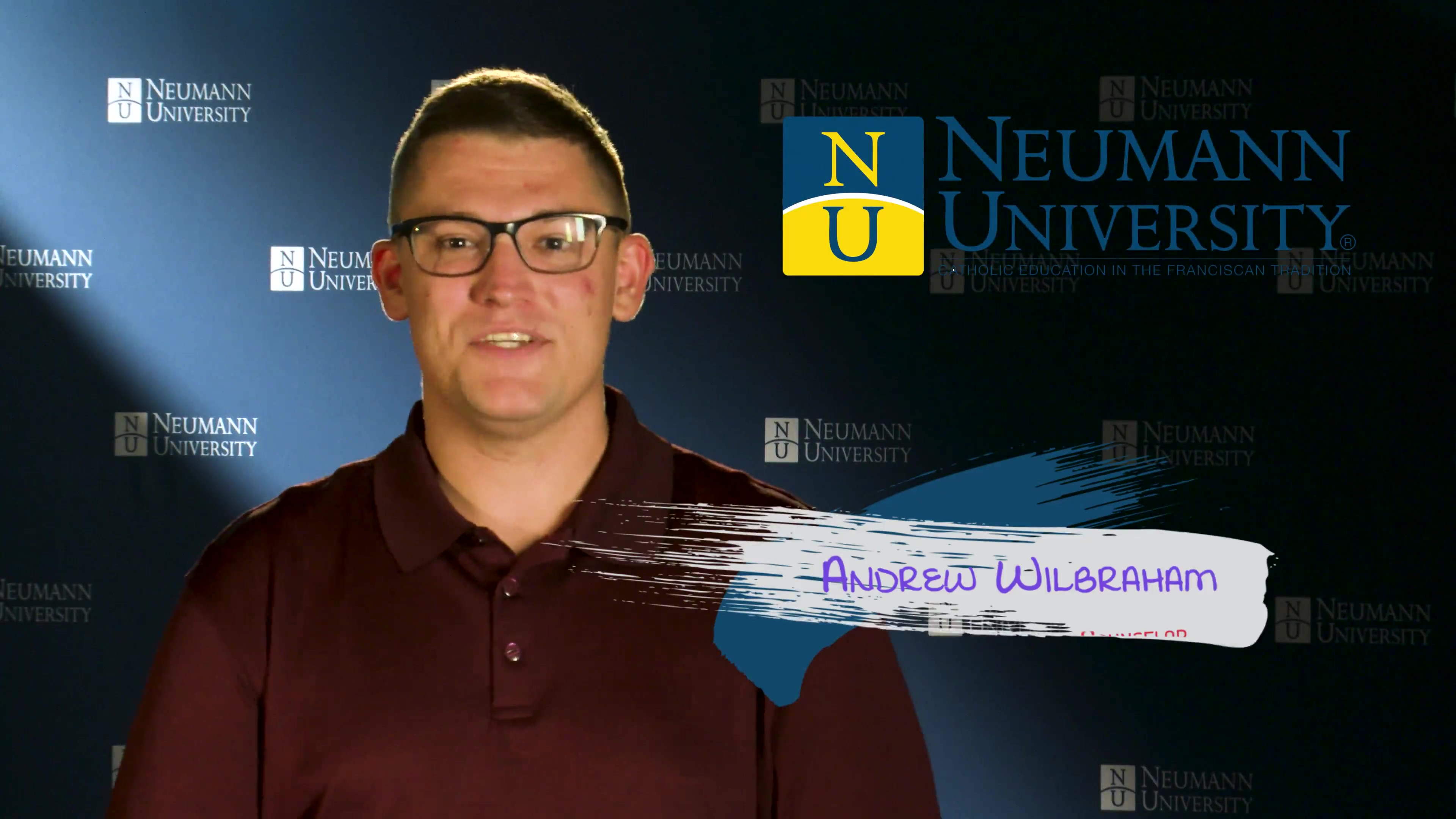 Neumann University - Admissions Counselor Andrew Wilbraham