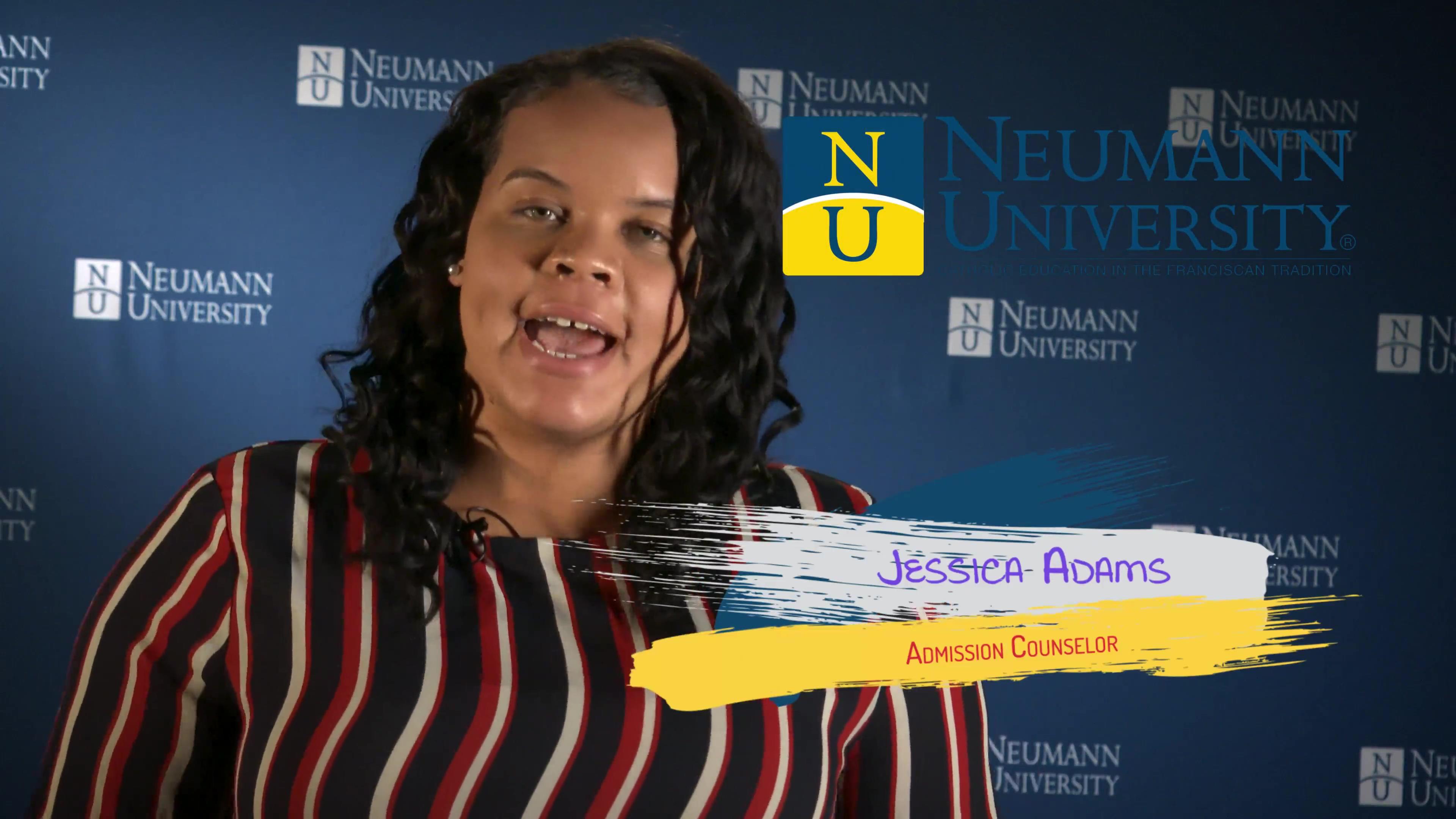Neumann University - Admission Counselor Jessica Adams