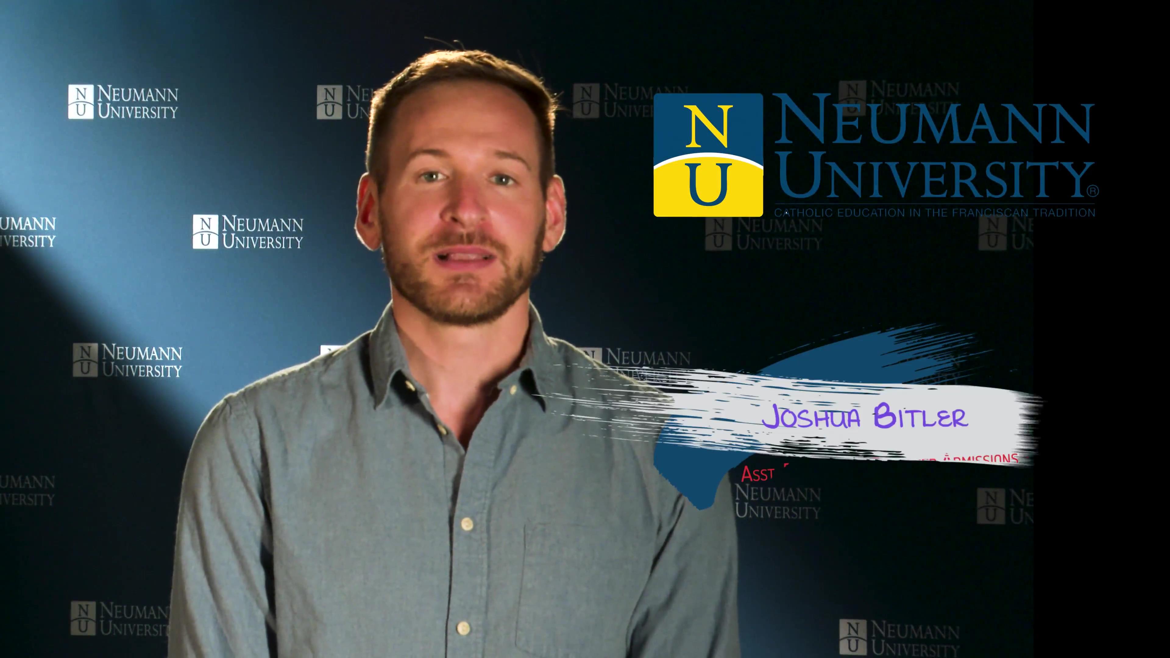 Neumann University - Assistant Director of Transfer Admissions Joshua Bitler