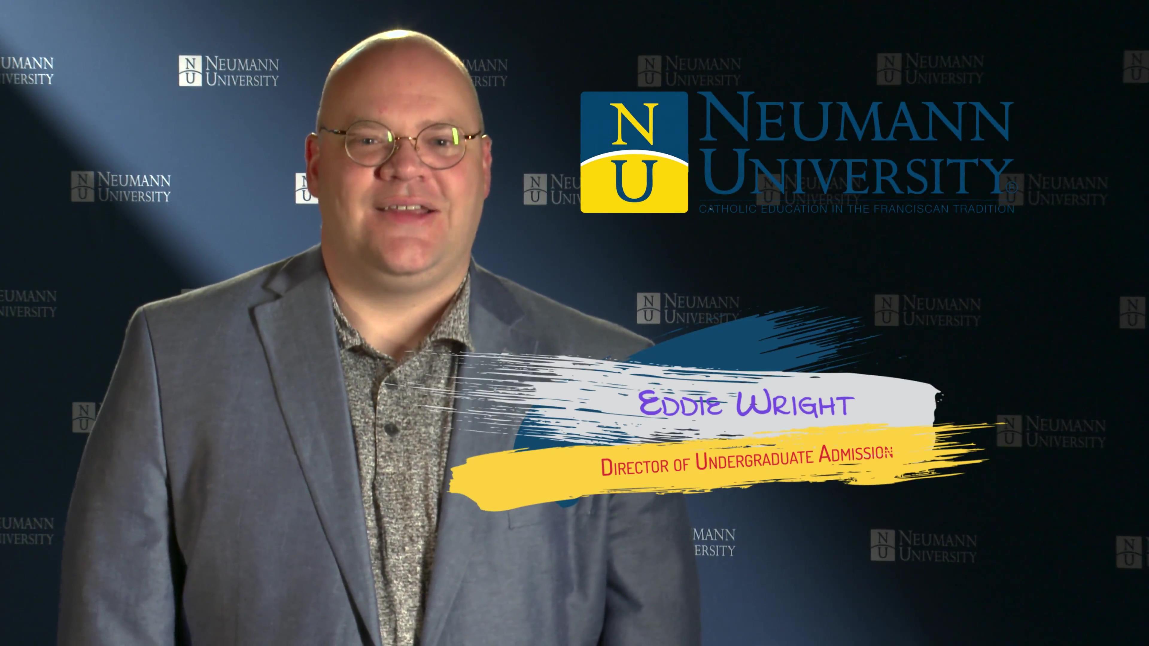Neumann University - Director of Undergraduate Admissions Edward Wright