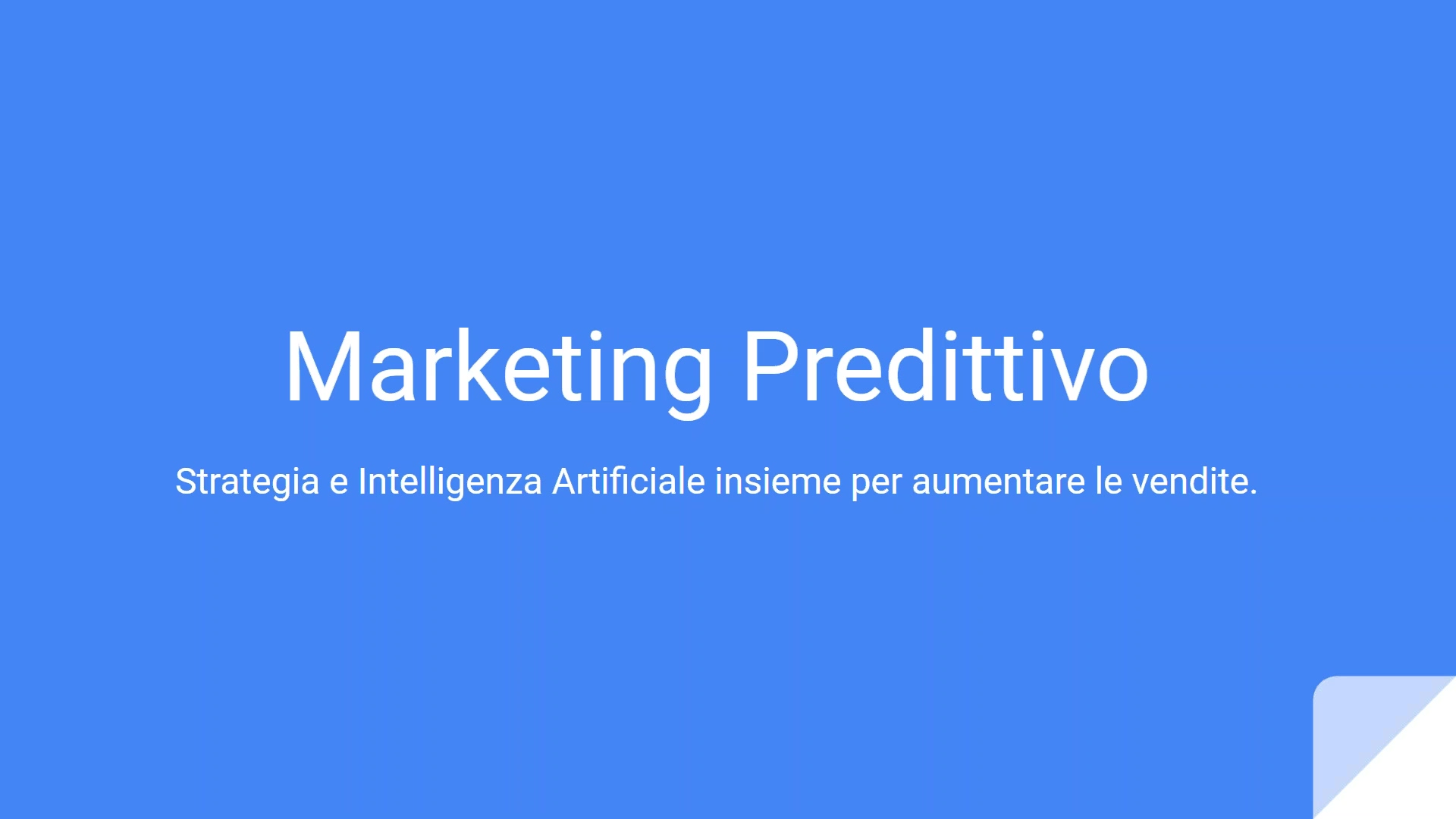 Marketing Predittivo_ Strategia e Intelligenza Artificiale insieme per aumentare le vendite.